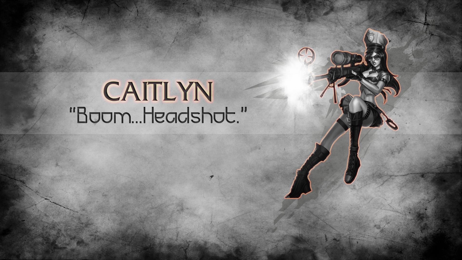Wallpaper Caitlyn League Of Legends 1920x1080 T0op0o