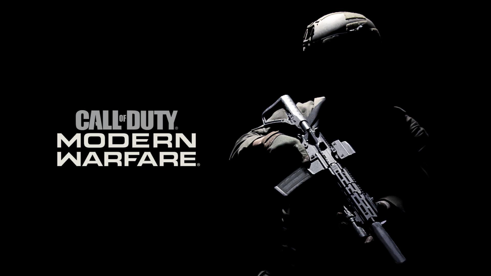 Wallpaper Call Of Duty Modern Warfare Call Of Duty Video Games