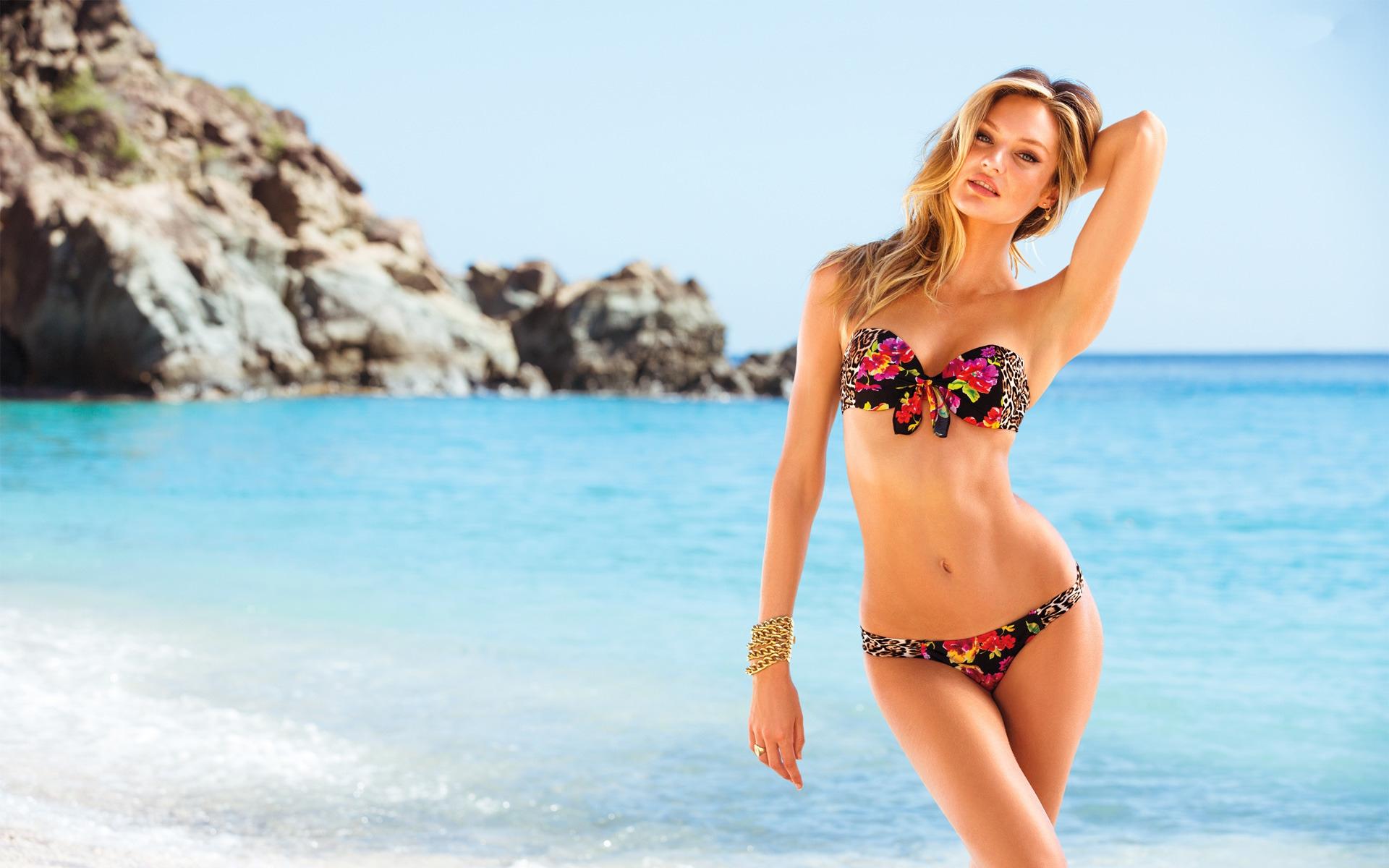 Fondos De Pantalla Candice Swanepoel Mujer Rubia Modelo