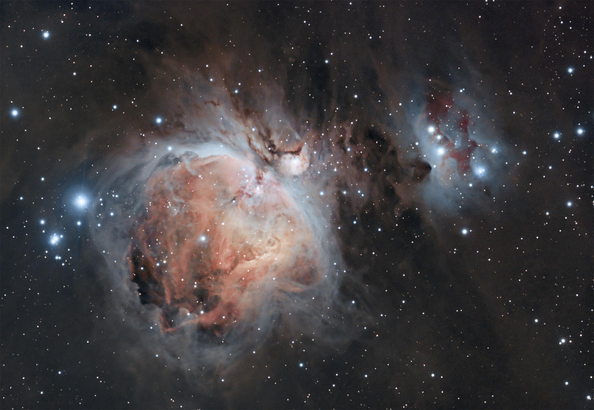 วอลเปเปอร์ : Canon, เนบิวลา, astrophotography, Orion, m42