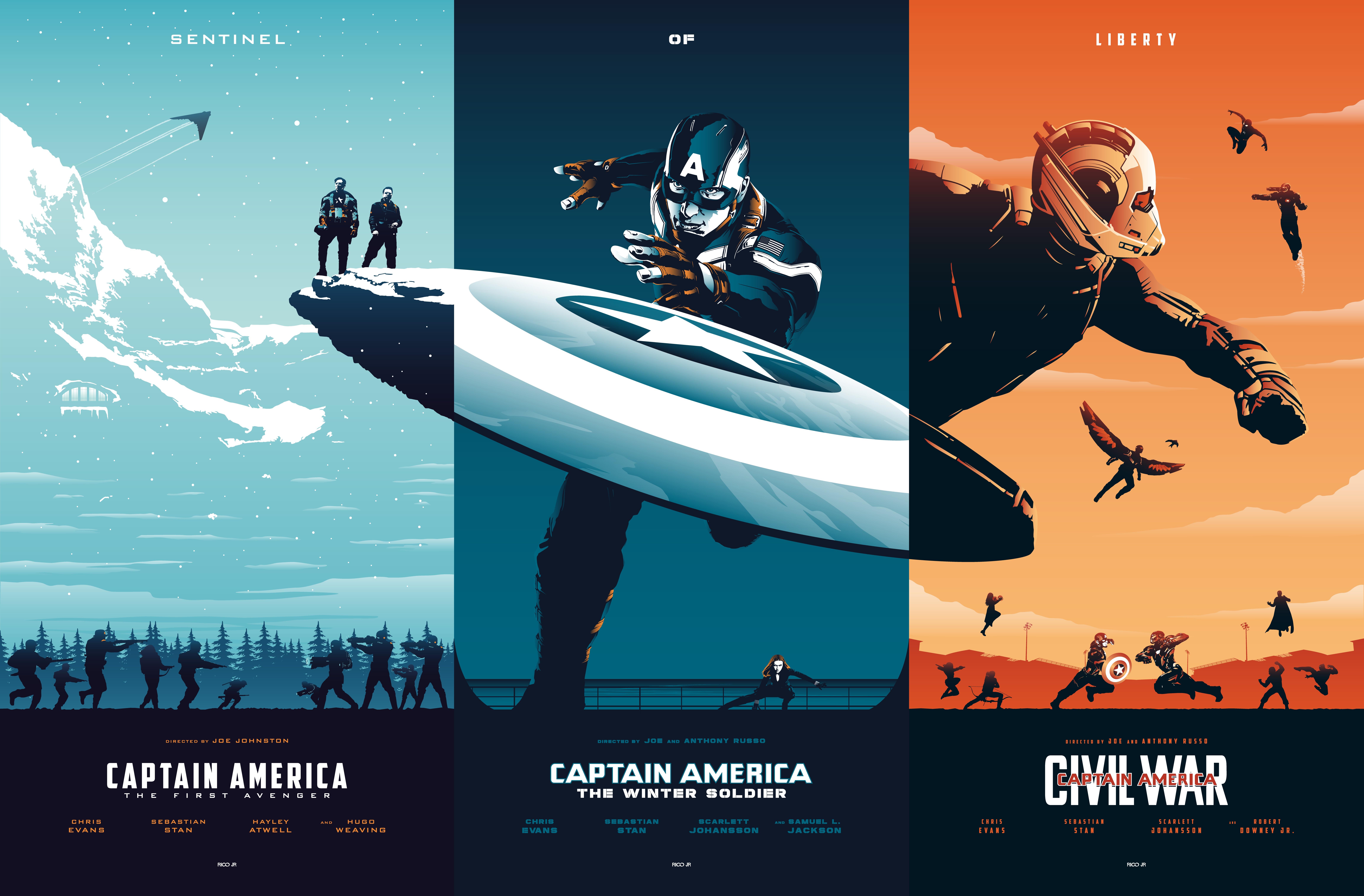 Wallpaper Captain America Captain America Civil War Captain