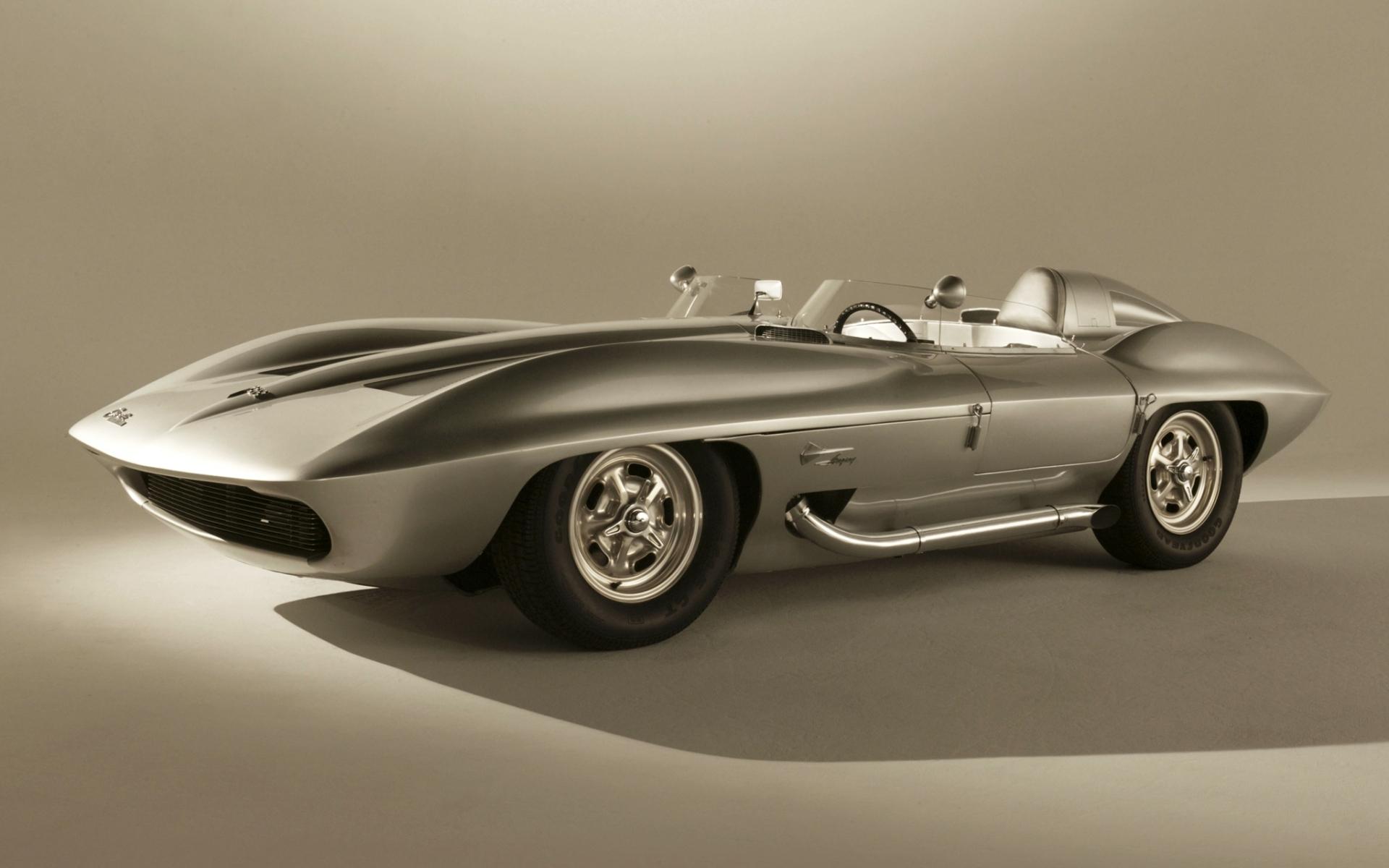 Wallpaper Chevrolet Corvette Stingray concept car 1959