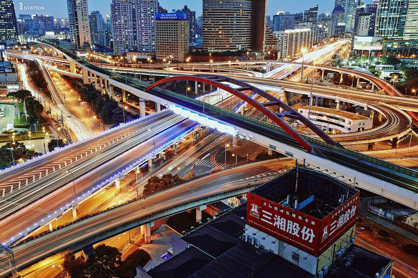 китайские дорожные развязки фото часто приходится