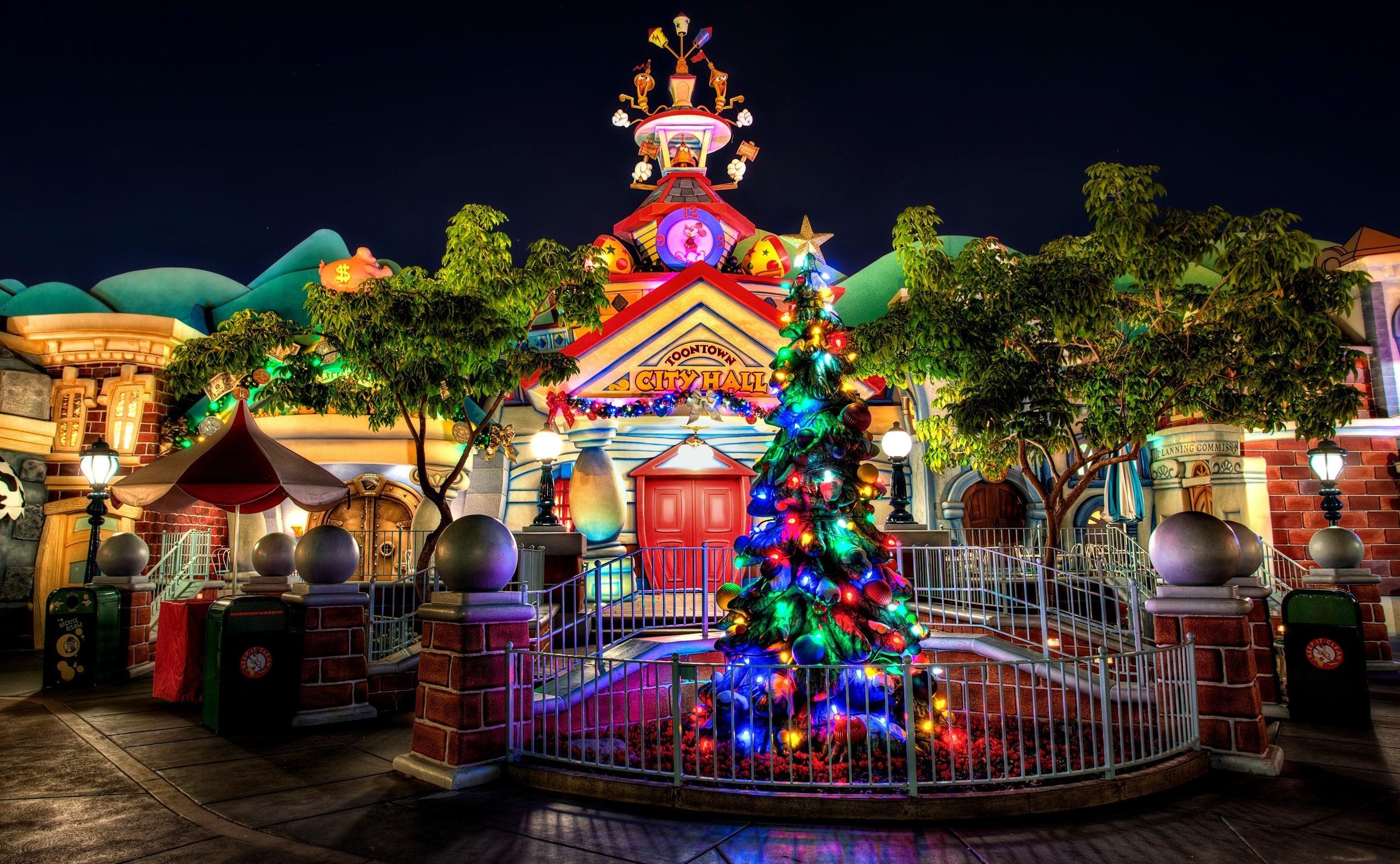 Weihnachtsbaum Girlande.Hintergrundbilder Weihnachtsbaum Girlande Gebäude Eingang