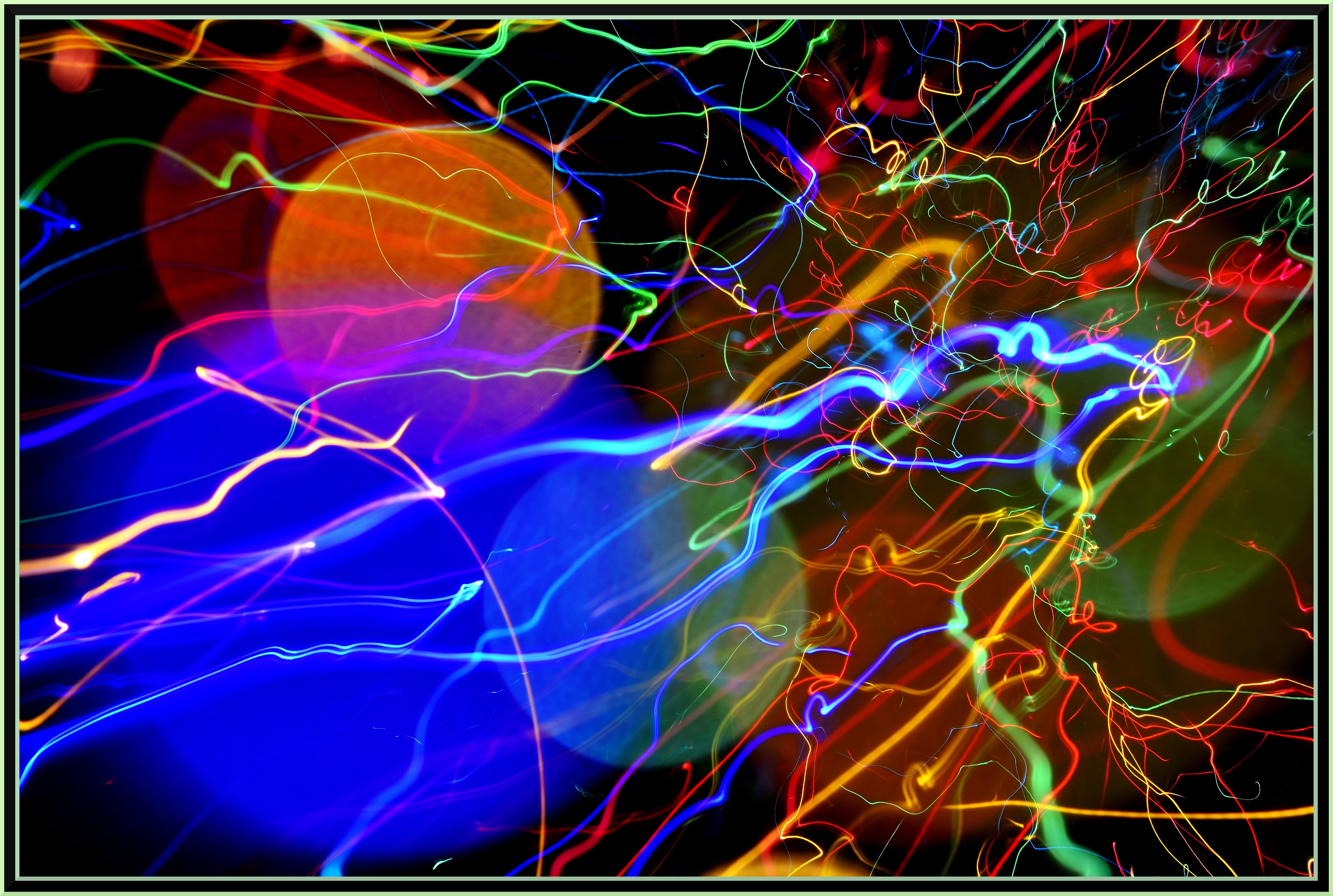 Albero Di Natale Yahoo.Sfondi Natale Citta Astratto Colore Albero Luci Yahoo