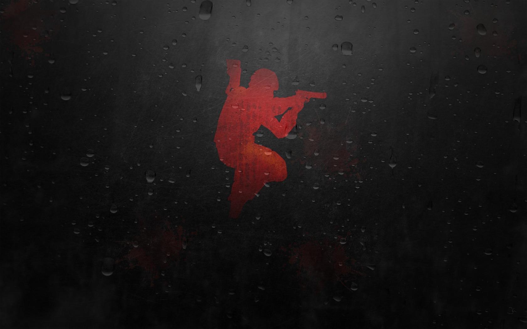 Wallpaper Counter Strike Water Background Soldier Pistol