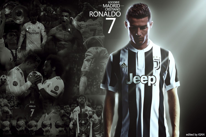 Wallpaper Cristiano Ronaldo Juventus Juve Soccer Real