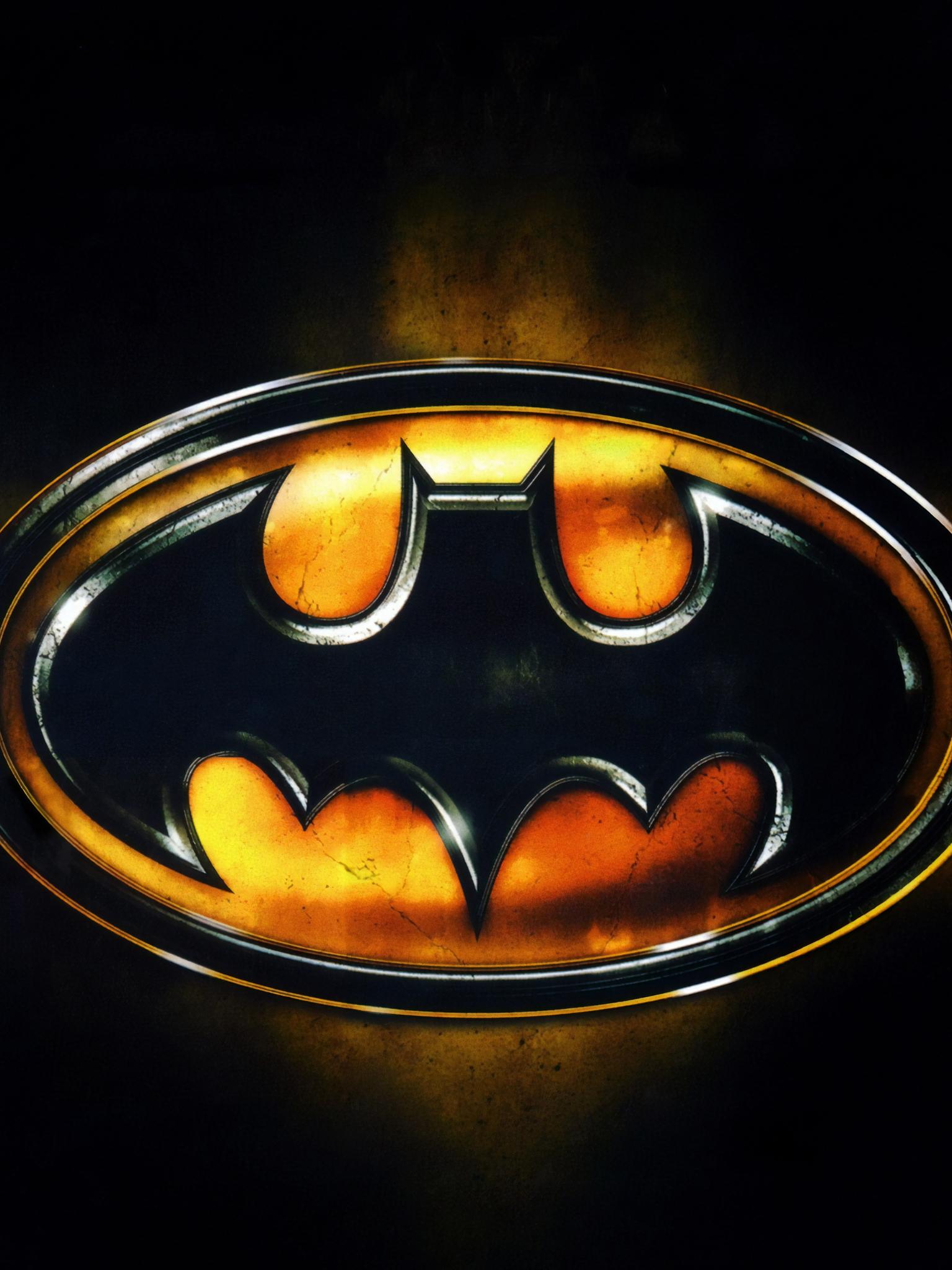Wallpaper Dc Comics Batman Logo 1536x2048 Eldergeek