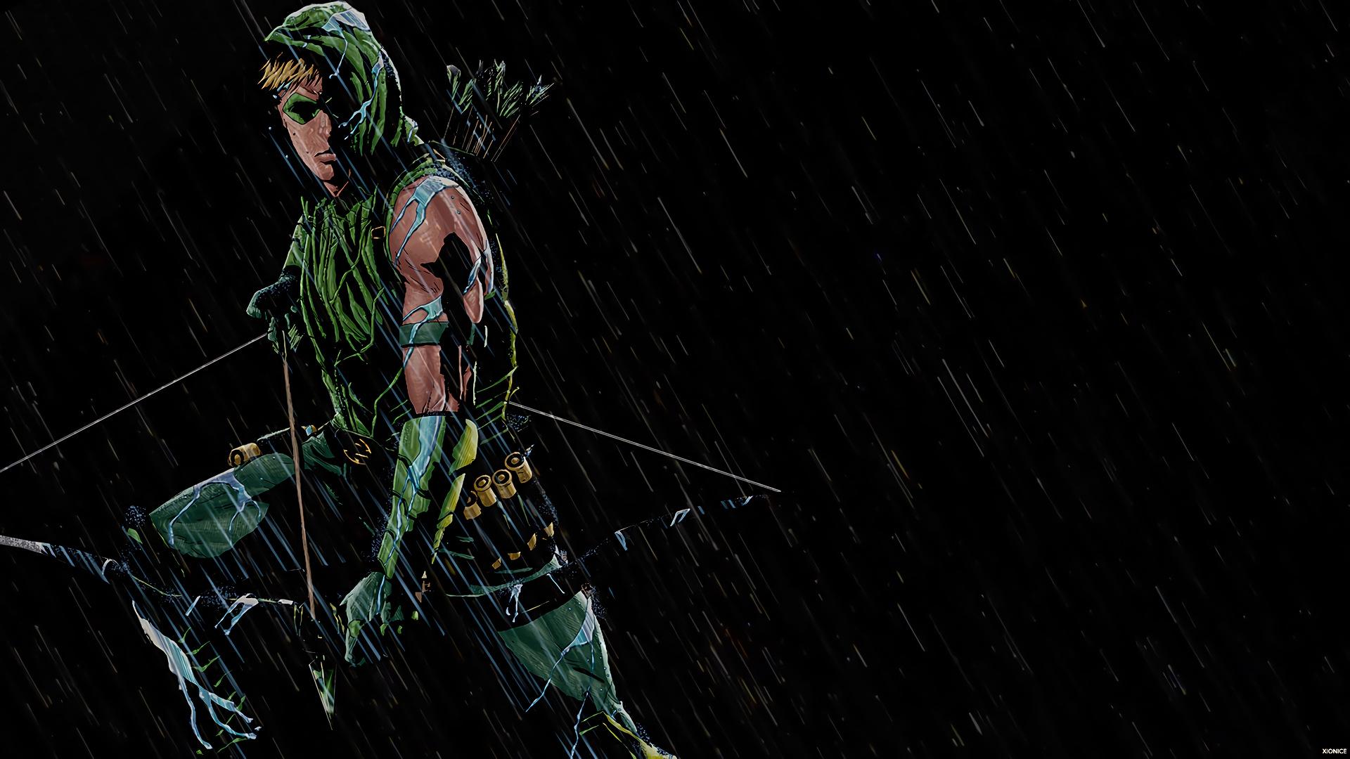 wallpaper : dc comics, green arrow 1920x1080 - 6itachi9 - 1173040