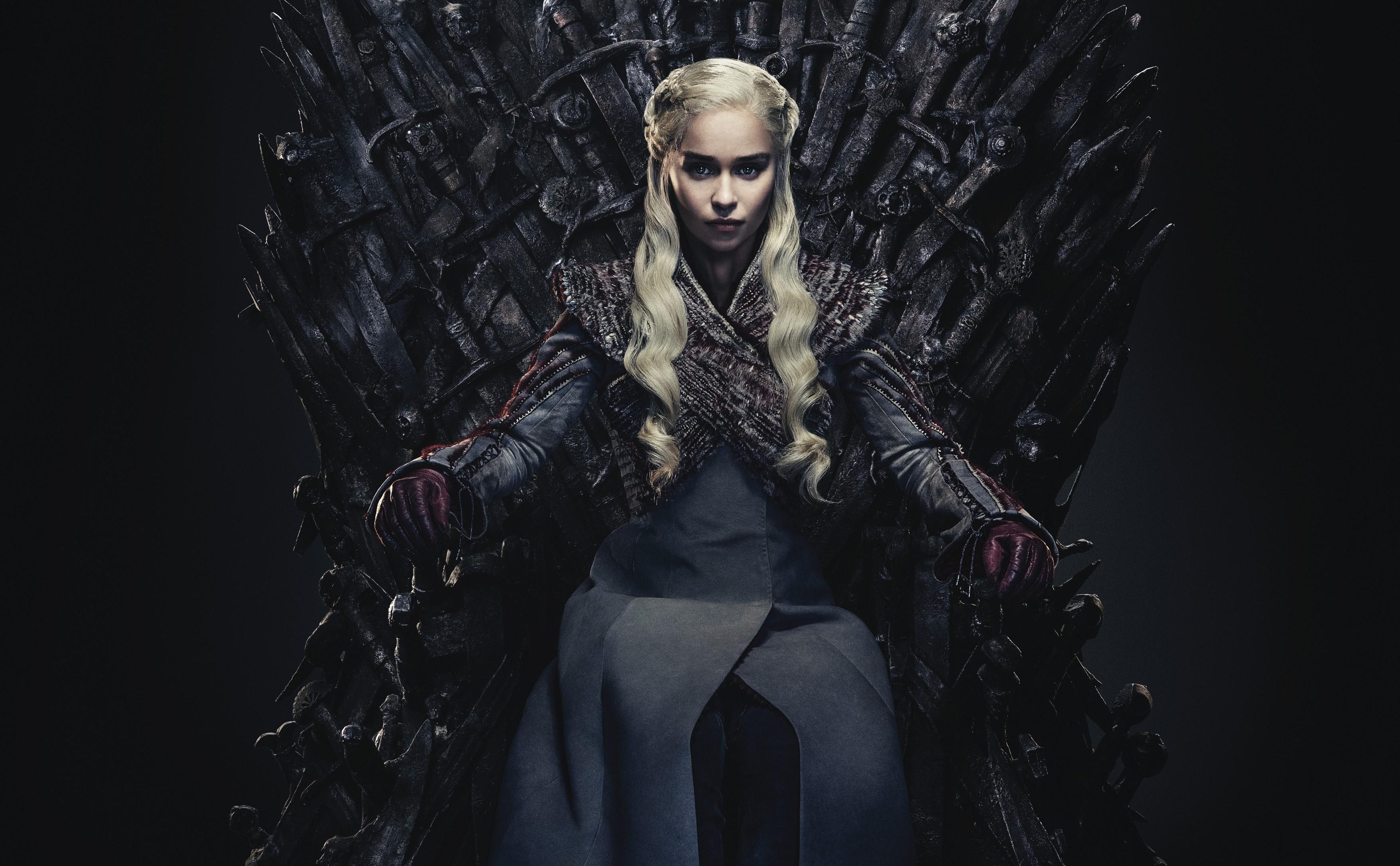 Wallpaper : Daenerys Targaryen, Emilia Clarke, Game of ...