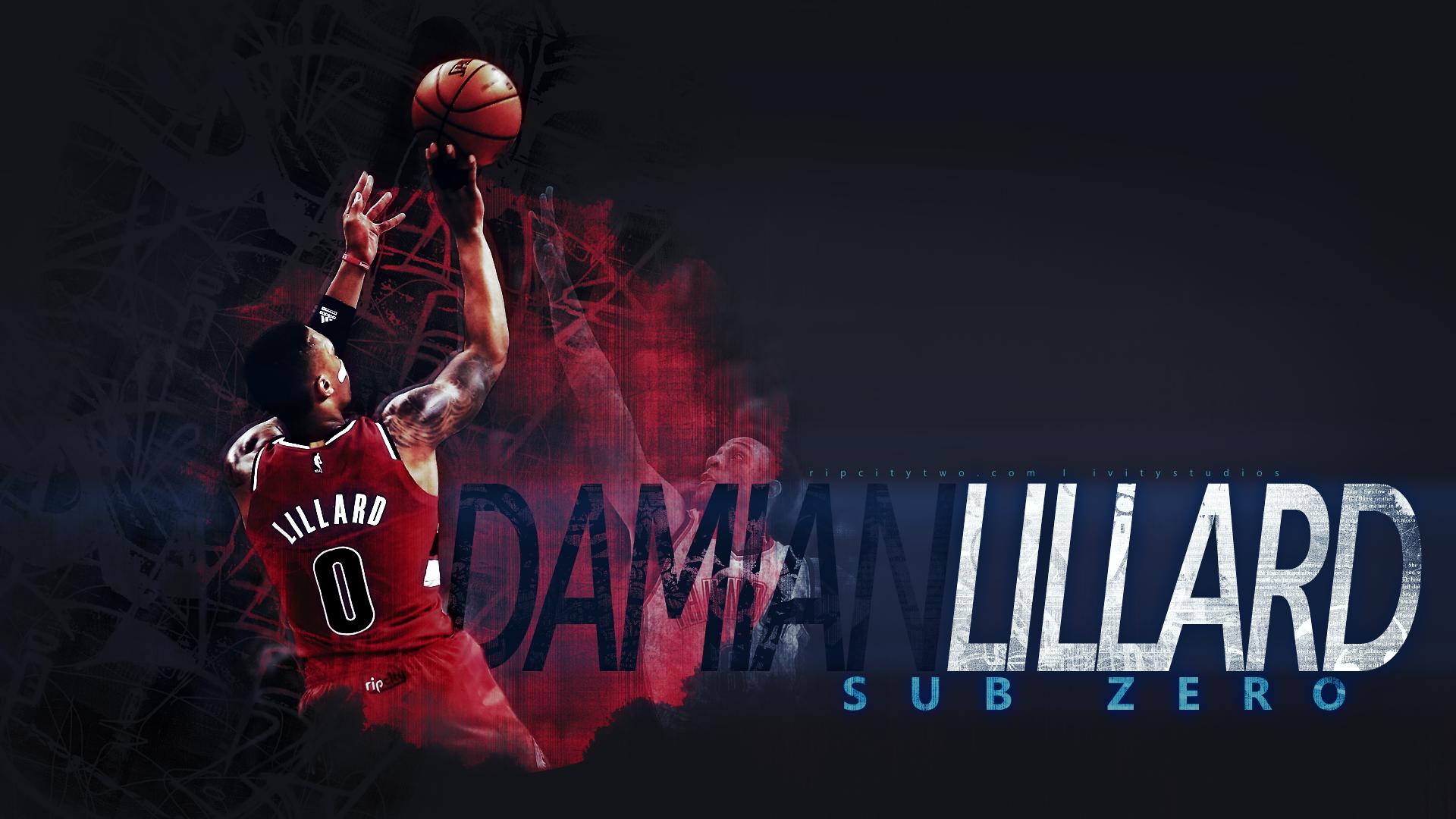 Wallpaper Damian Lillard Basketball Nba Portland Blazers Ivitystudios 1920x1080 Seanivity 1356291 Hd Wallpapers Wallhere