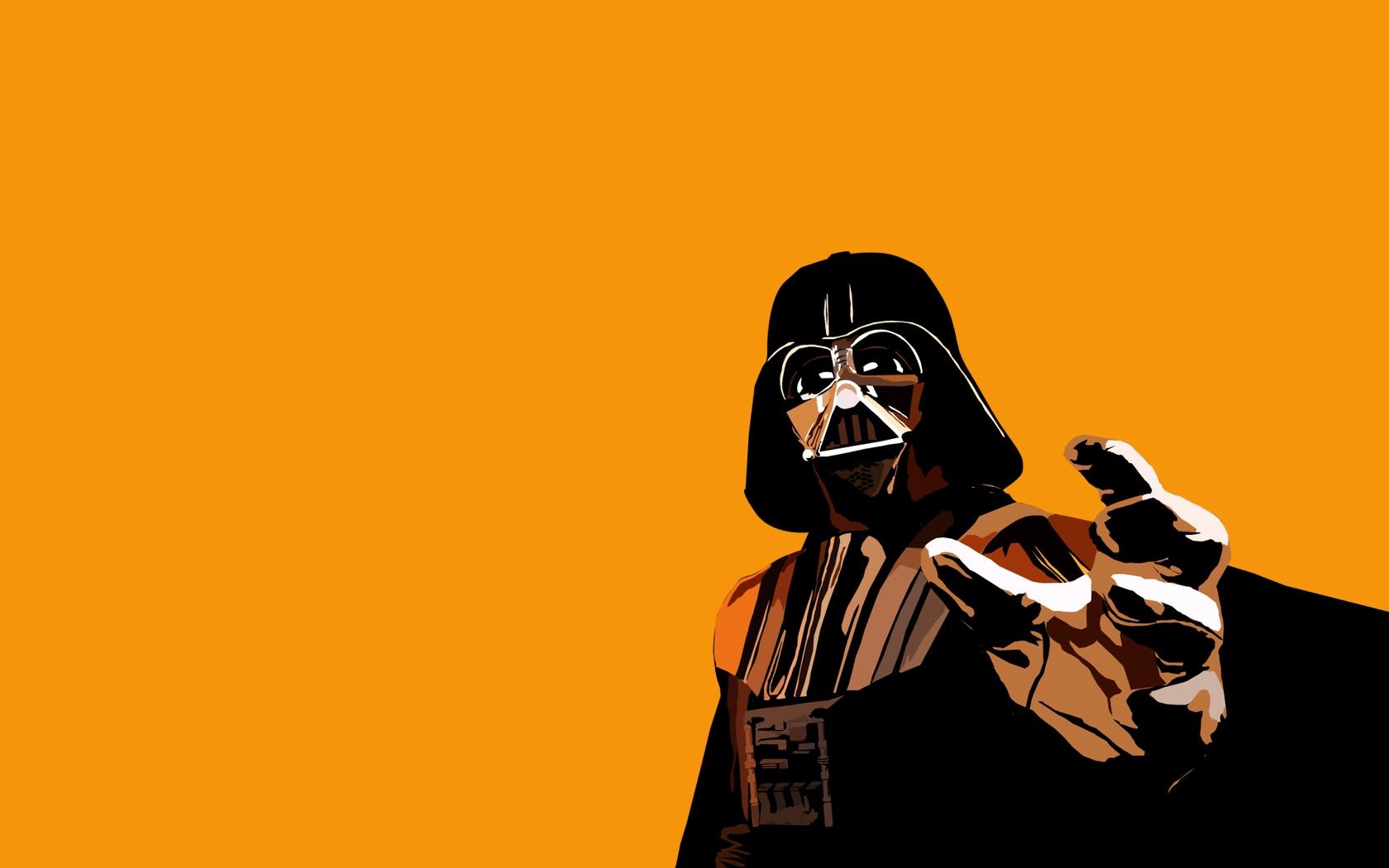 Wallpaper Darth Vader Hand Mask Cape 1680x1050