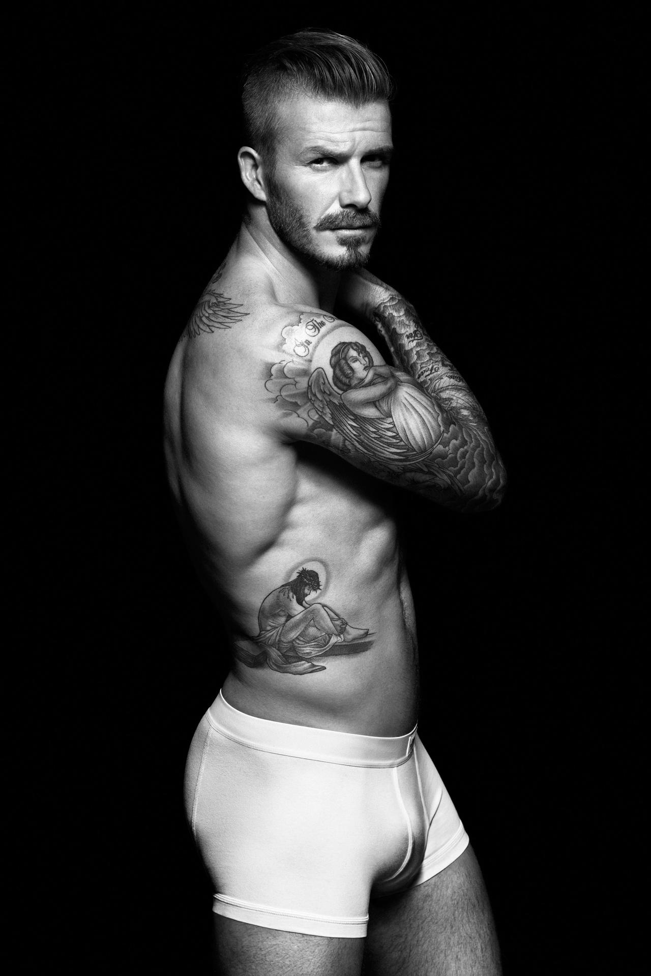 Wallpaper David Beckham Model Football Player Tattoo Looking