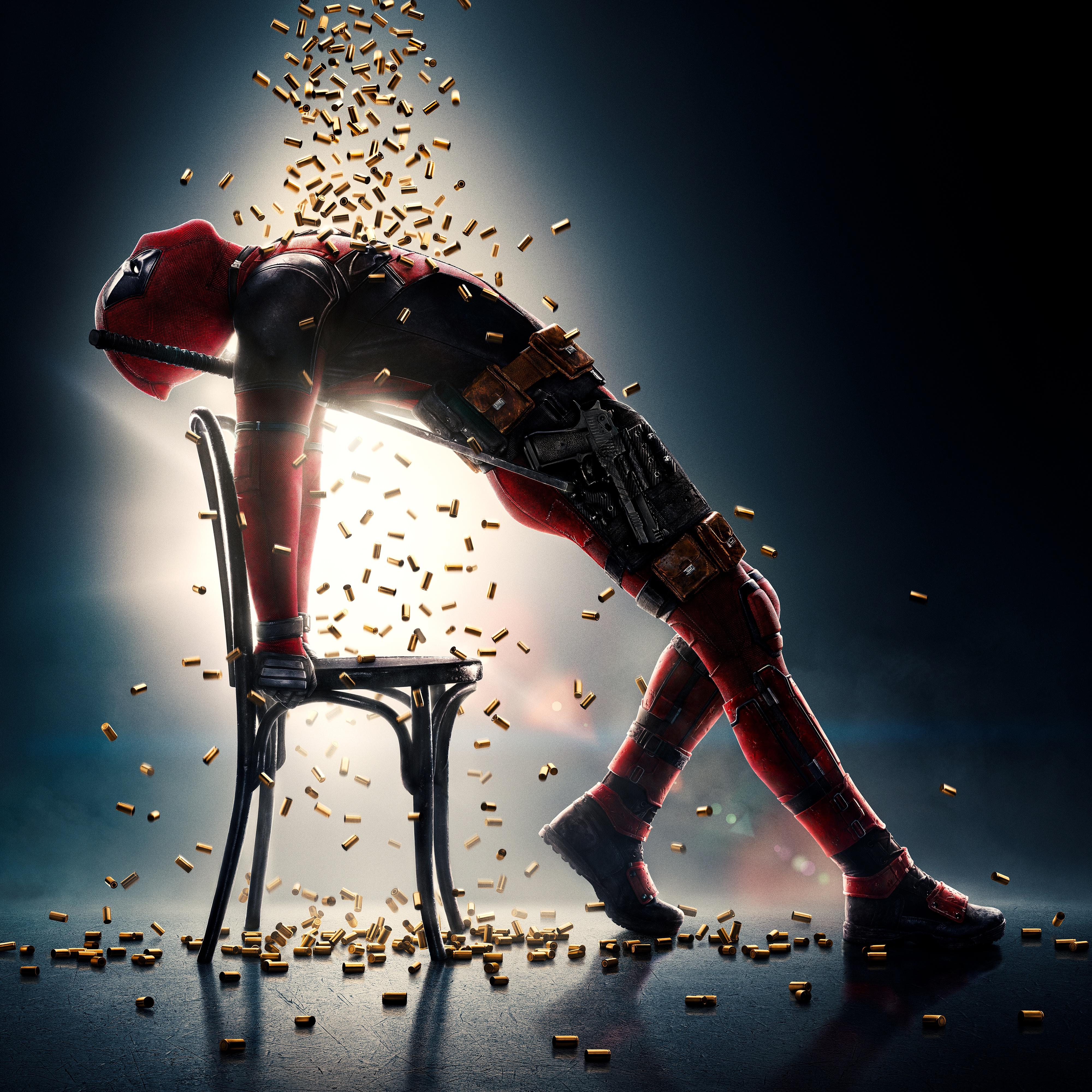 Wallpaper Deadpool 2 Shell Casing Marvel Cinematic Universe