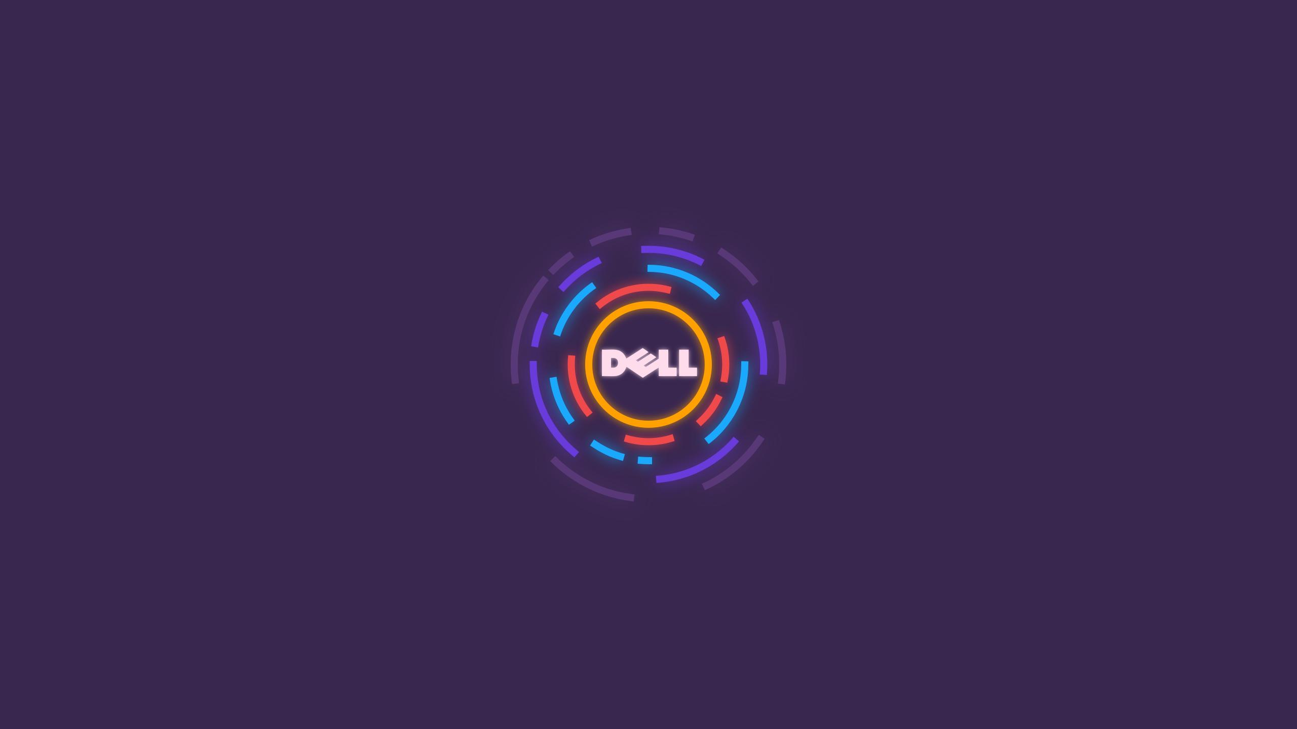 Papel De Parede Dell G3: Papel De Parede : Dell, Roxa, Minimalismo 2560x1440
