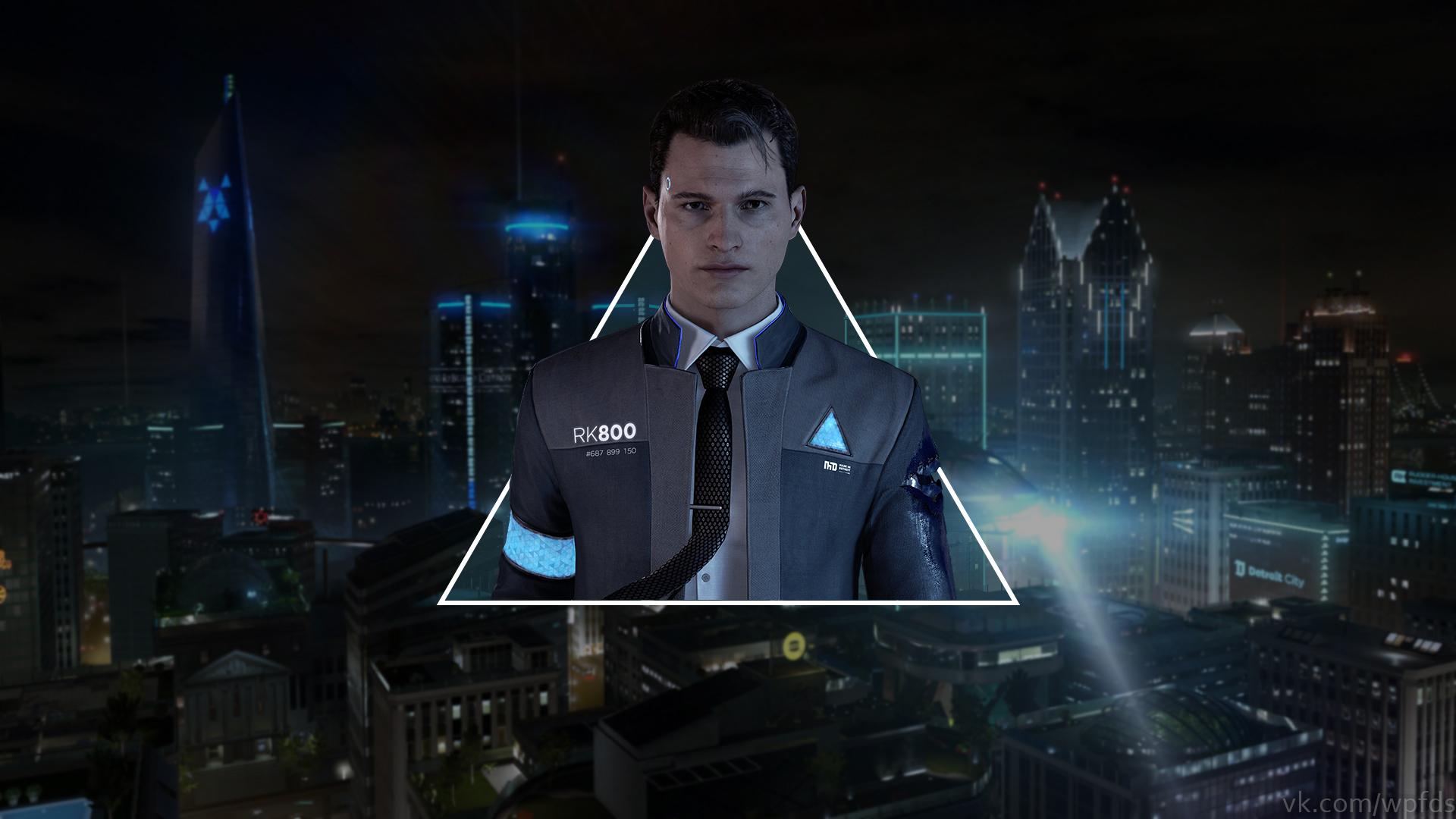 Detroit Become Human Connor Wallpaper: Wallpaper : Detroit Become Human, Connor, Video Games