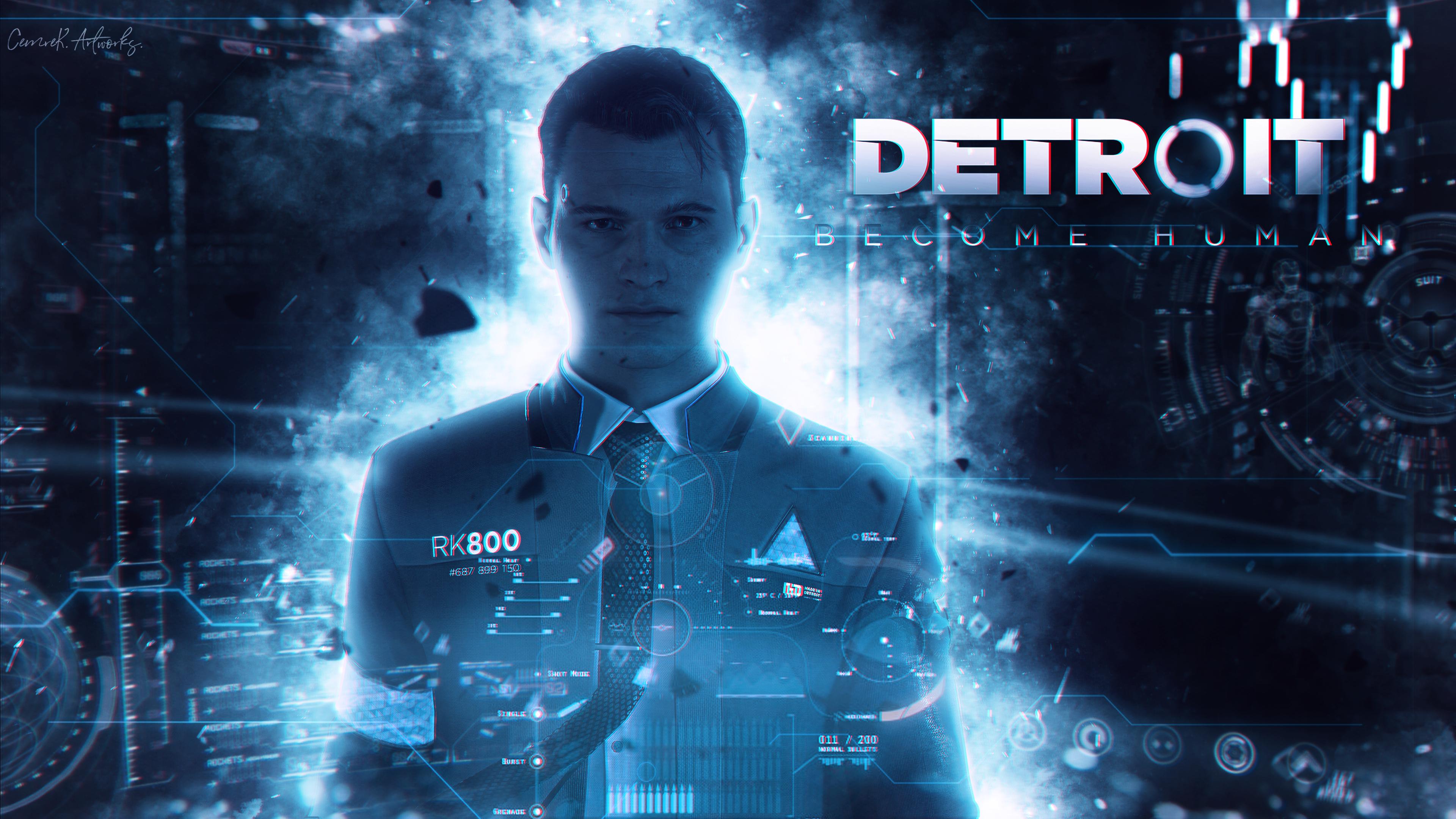 Wallpaper Detroit Become Human Games Art 3840x2160 Cyannight