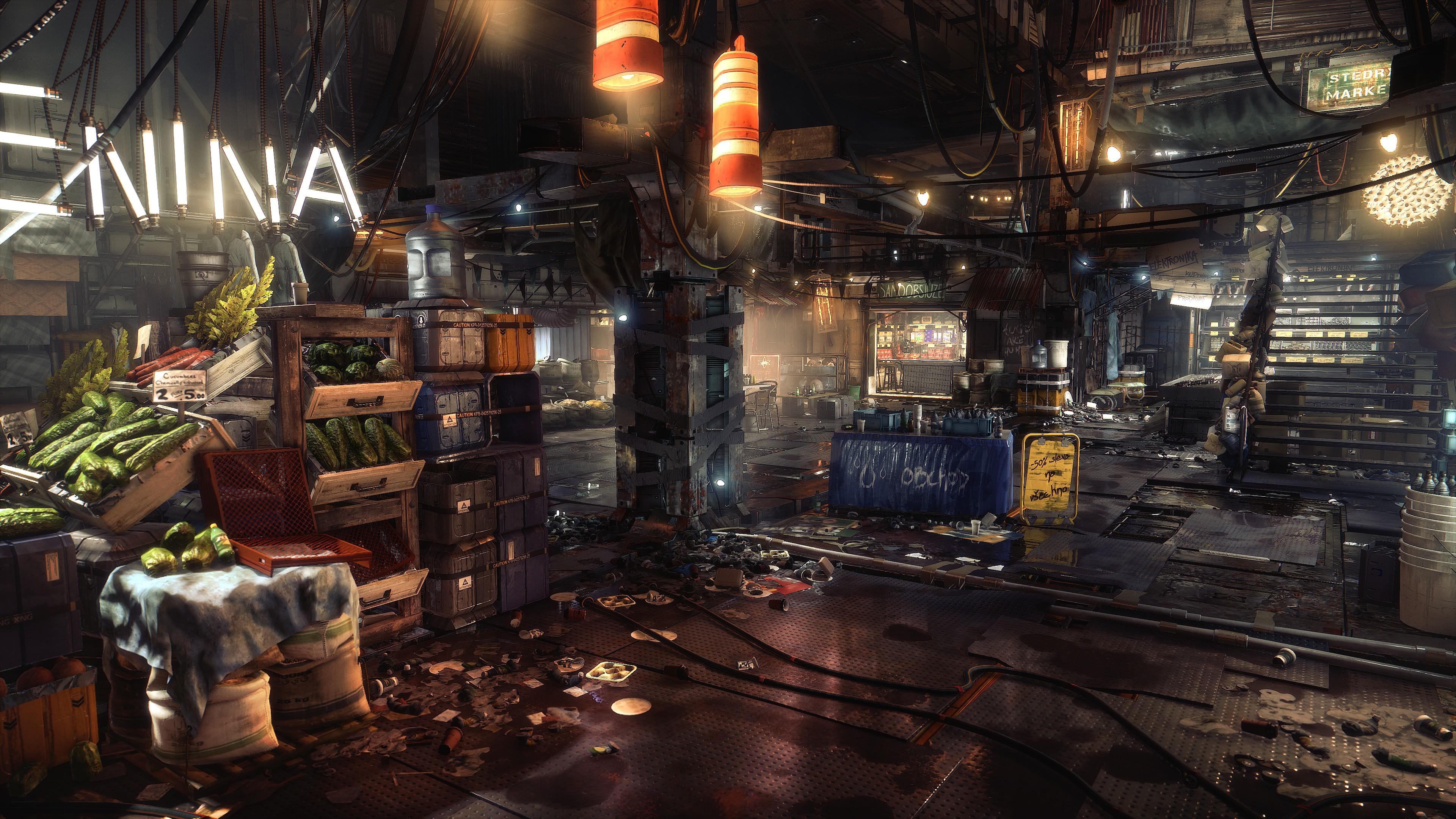 Wallpaper Deus Ex Mankind Divided Screenshot Pc Game 3840x2160