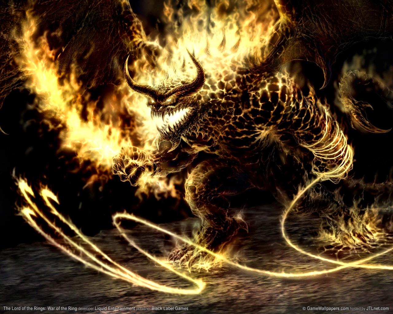 Devil monster fire whip