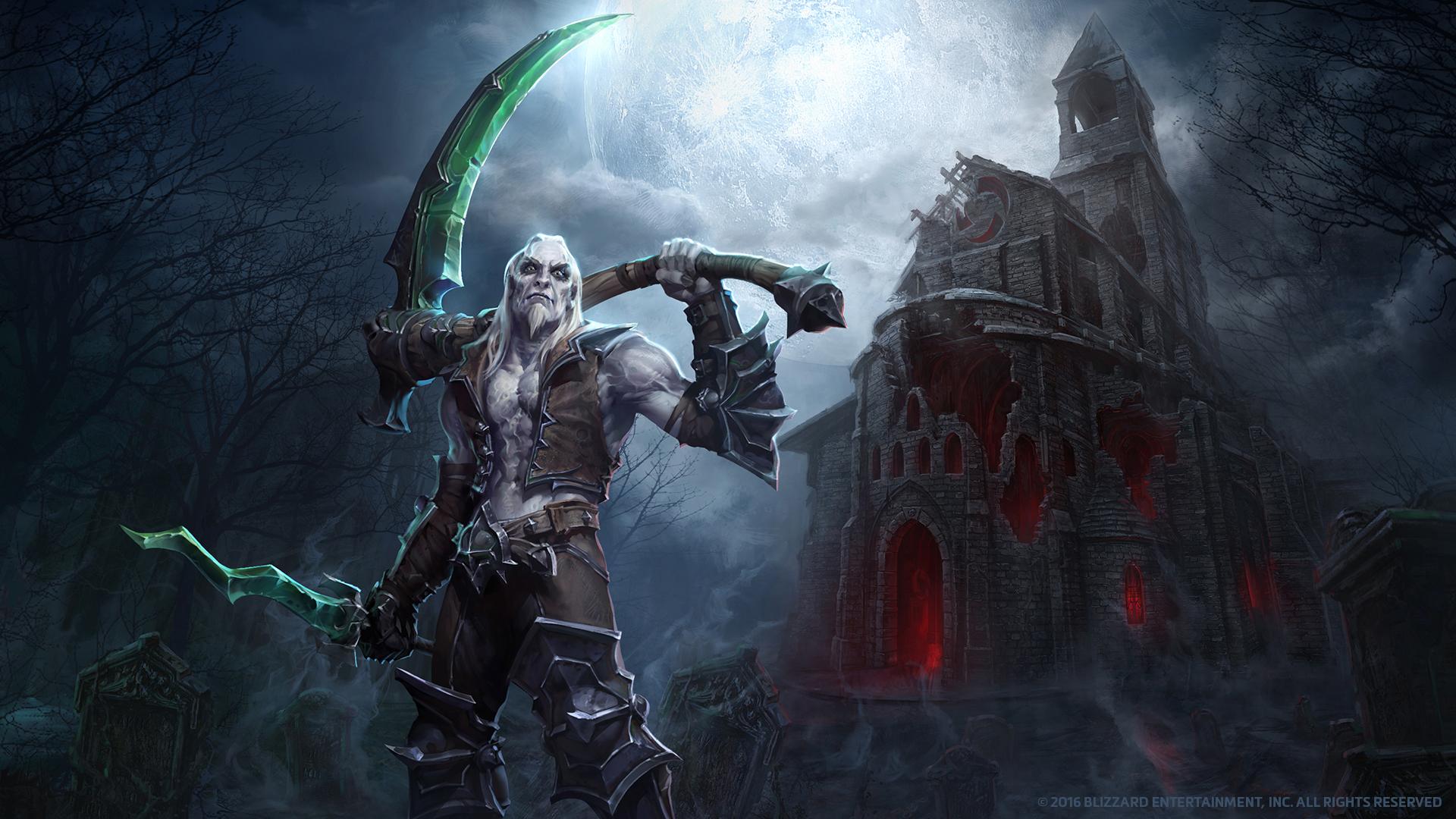 Wallpaper : Diablo 3 Reaper Of Souls, Mr Jack Luke Mancini