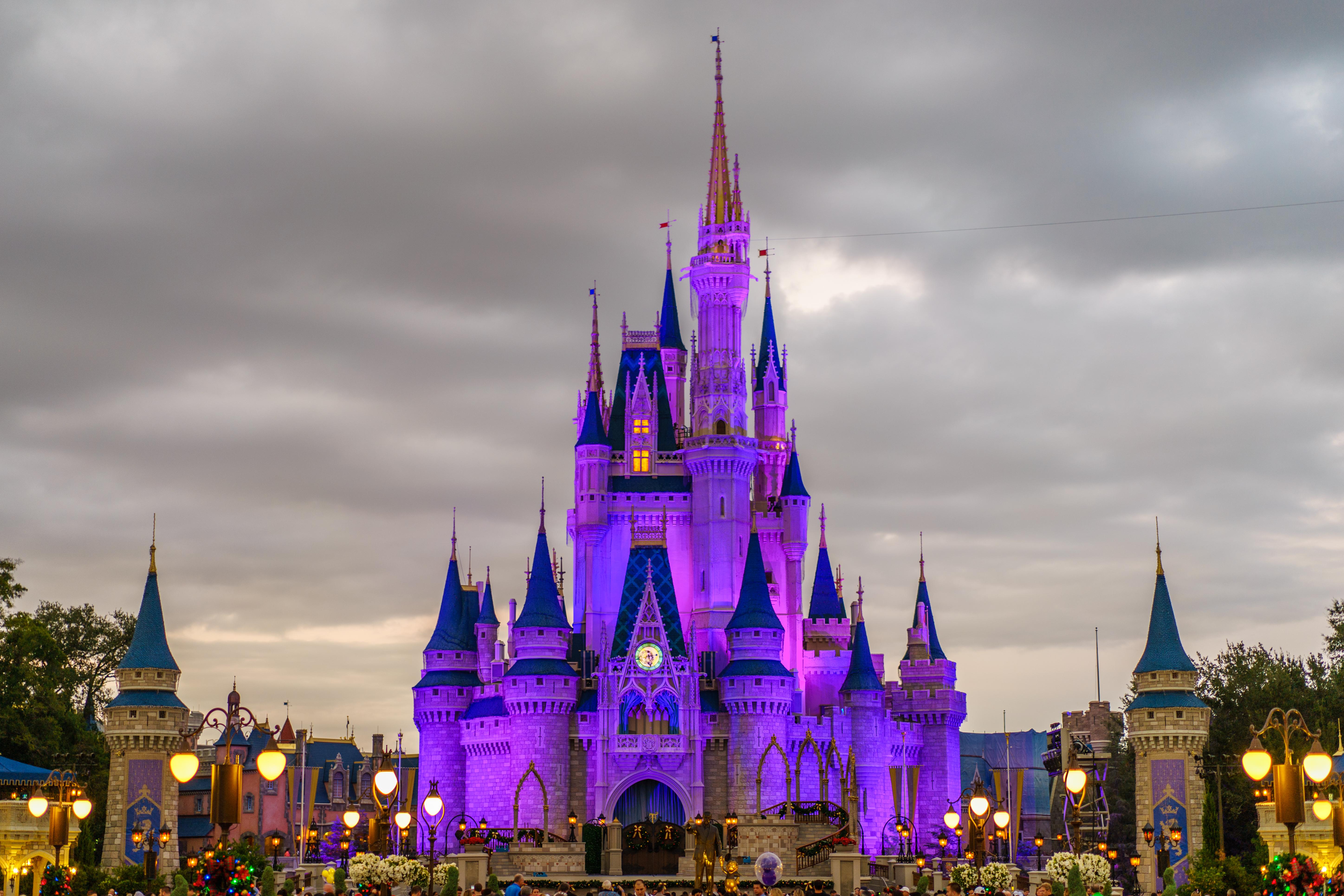 Картинки замок золушки