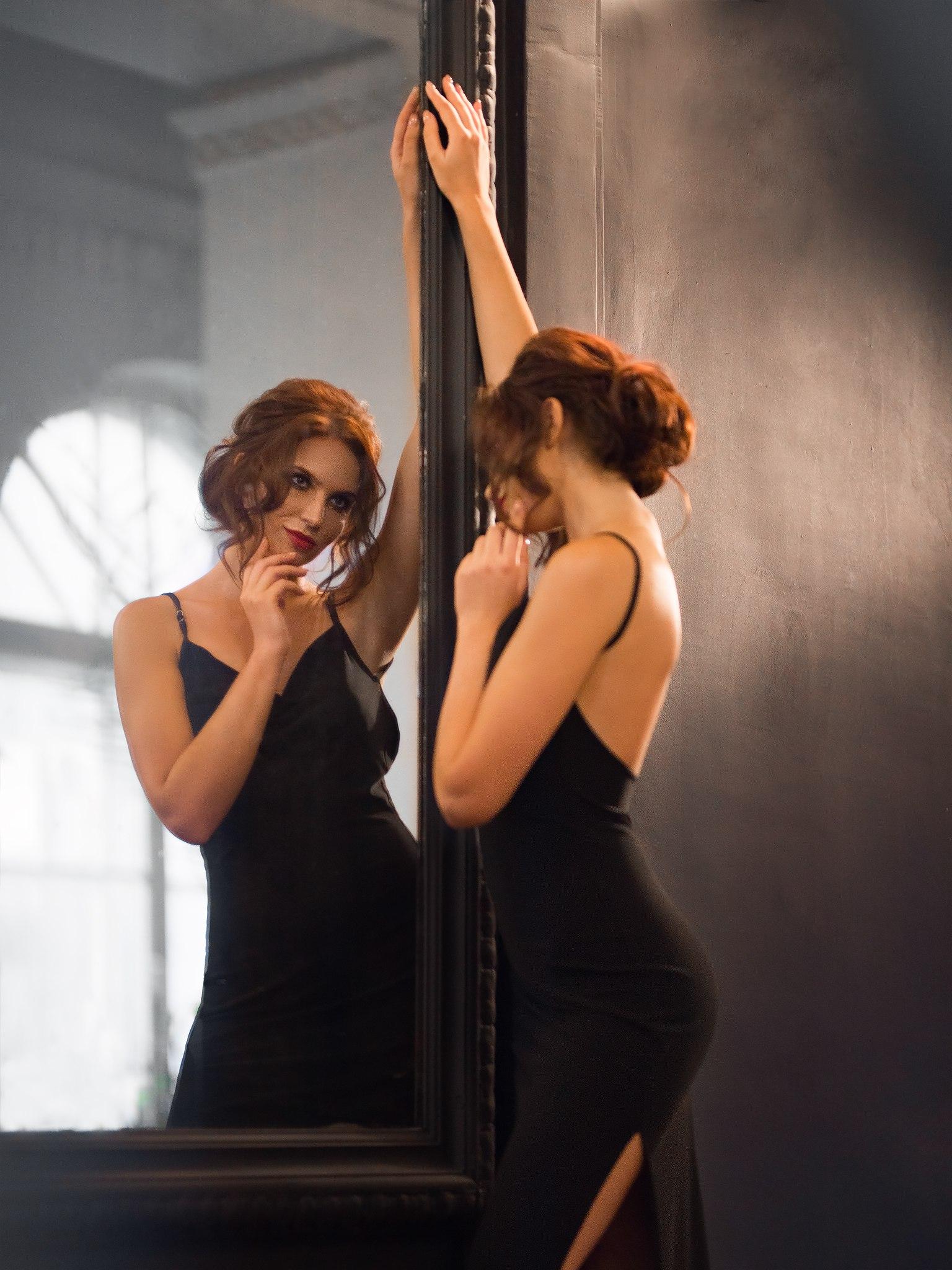 Как сделать фото через зеркало надо учитывать