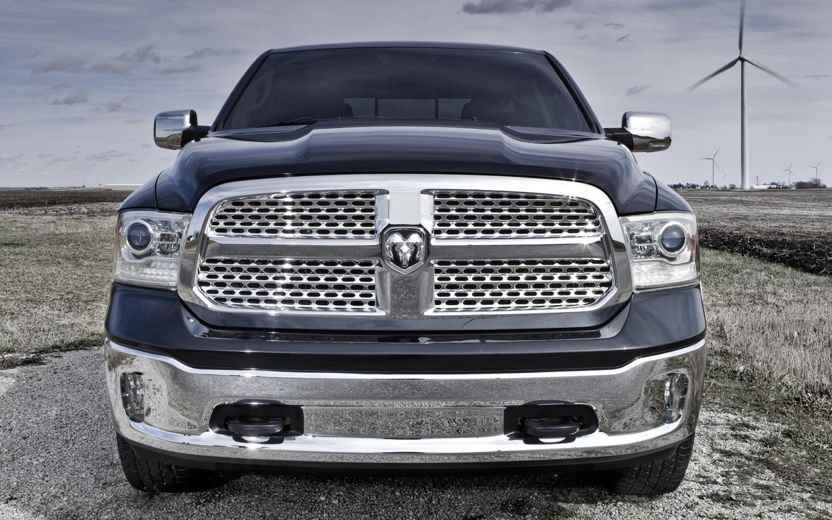 Wallpaper Dodge Ram 1500 Laramie Crew Cab Pickup Suv 2012 Quad