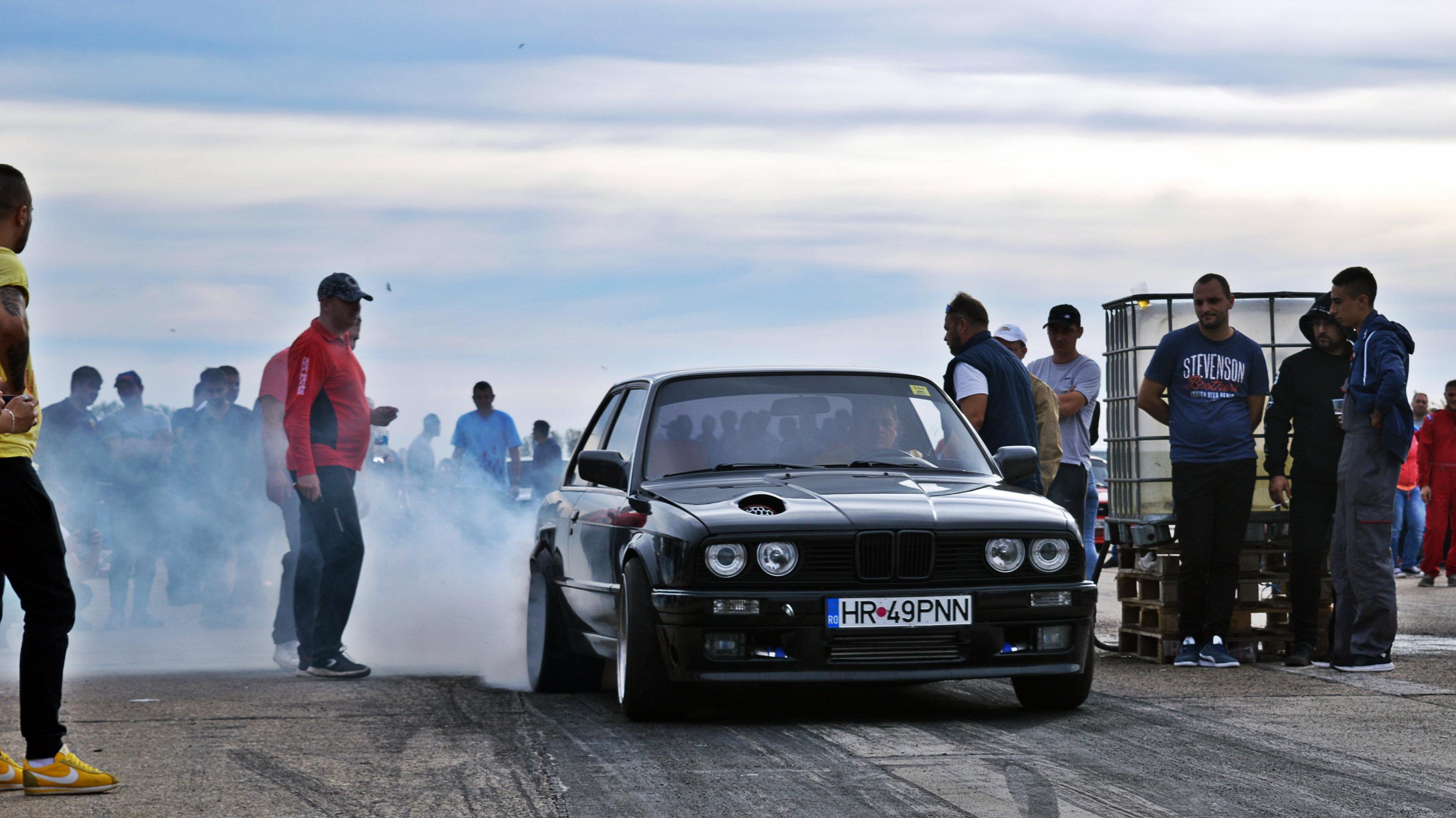 Fond D écran Drag Racing Romania Roumanie Bmw E30 Ianca