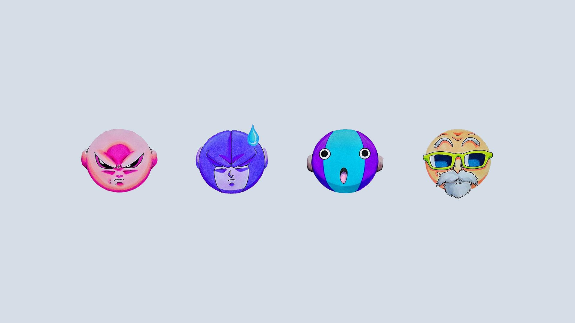 Wallpaper Dragon Ball Dragon Ball Super Emoji Muten Roshi