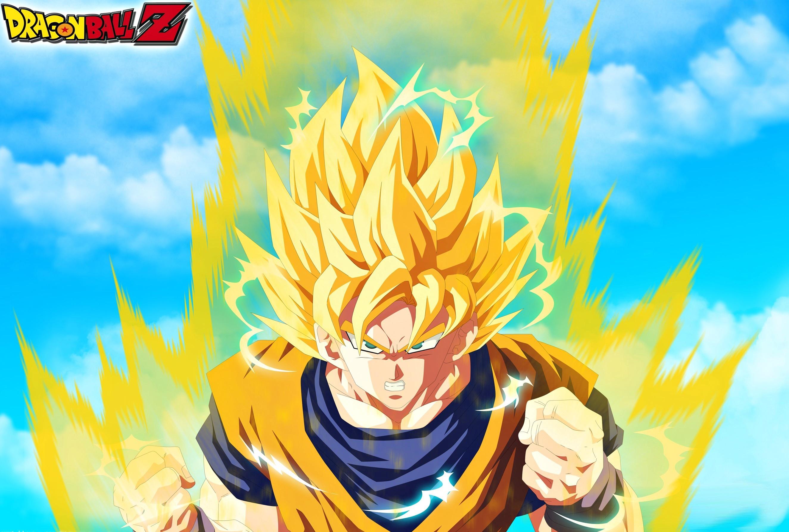 Wallpaper Dragon Ball Dragon Ball Z Son Goku Super Saiyan 2