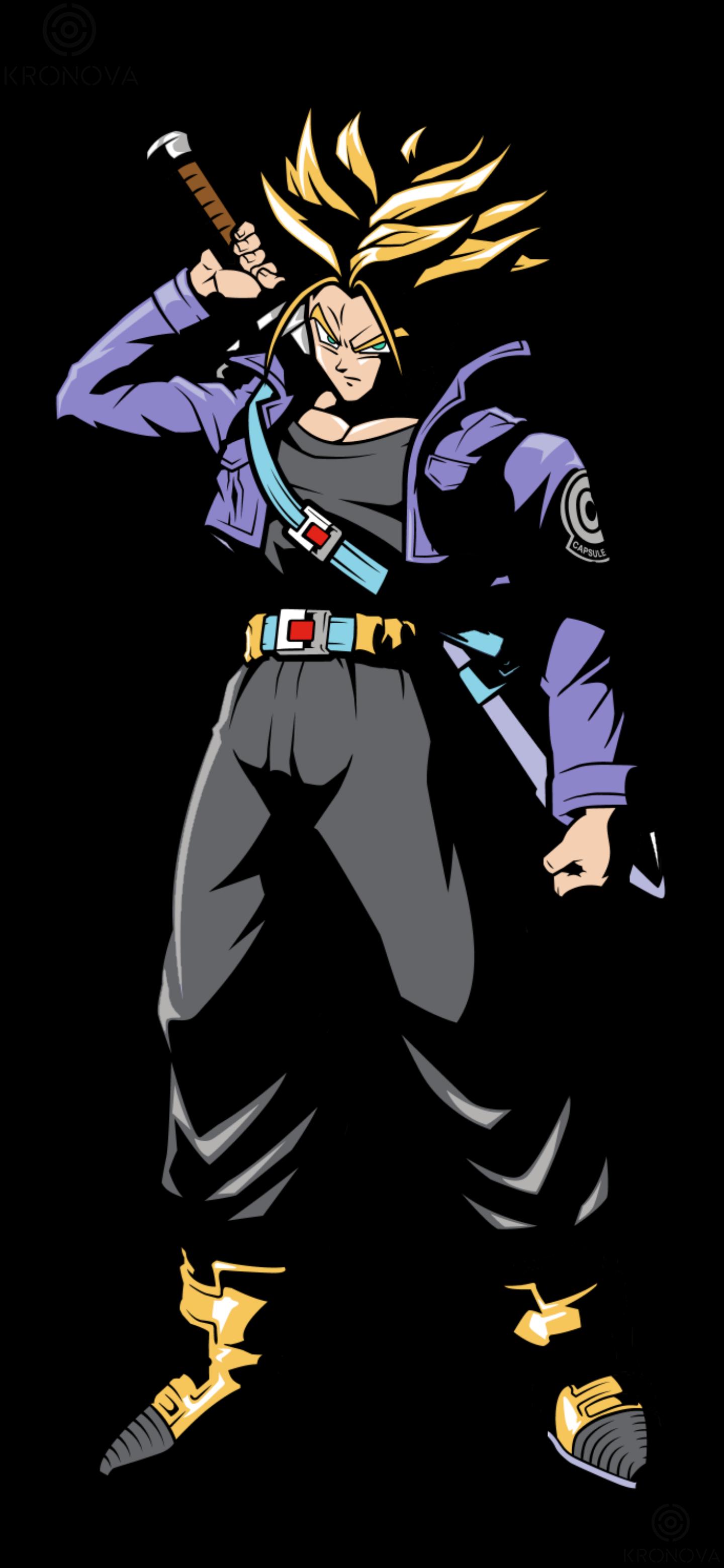 Wallpaper Bola Naga Dragon Ball Z Celana Pendek Karakter Batang Future Trunks Super Saiyan Anime Manga 1440x3120 Arg81 1943873 Hd Wallpapers Wallhere