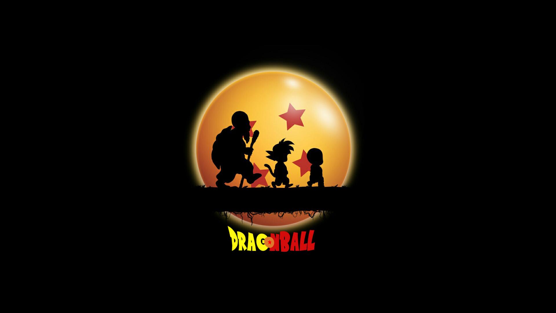 Wallpaper Dragon Ball Sangoku Krillin 1920x1080