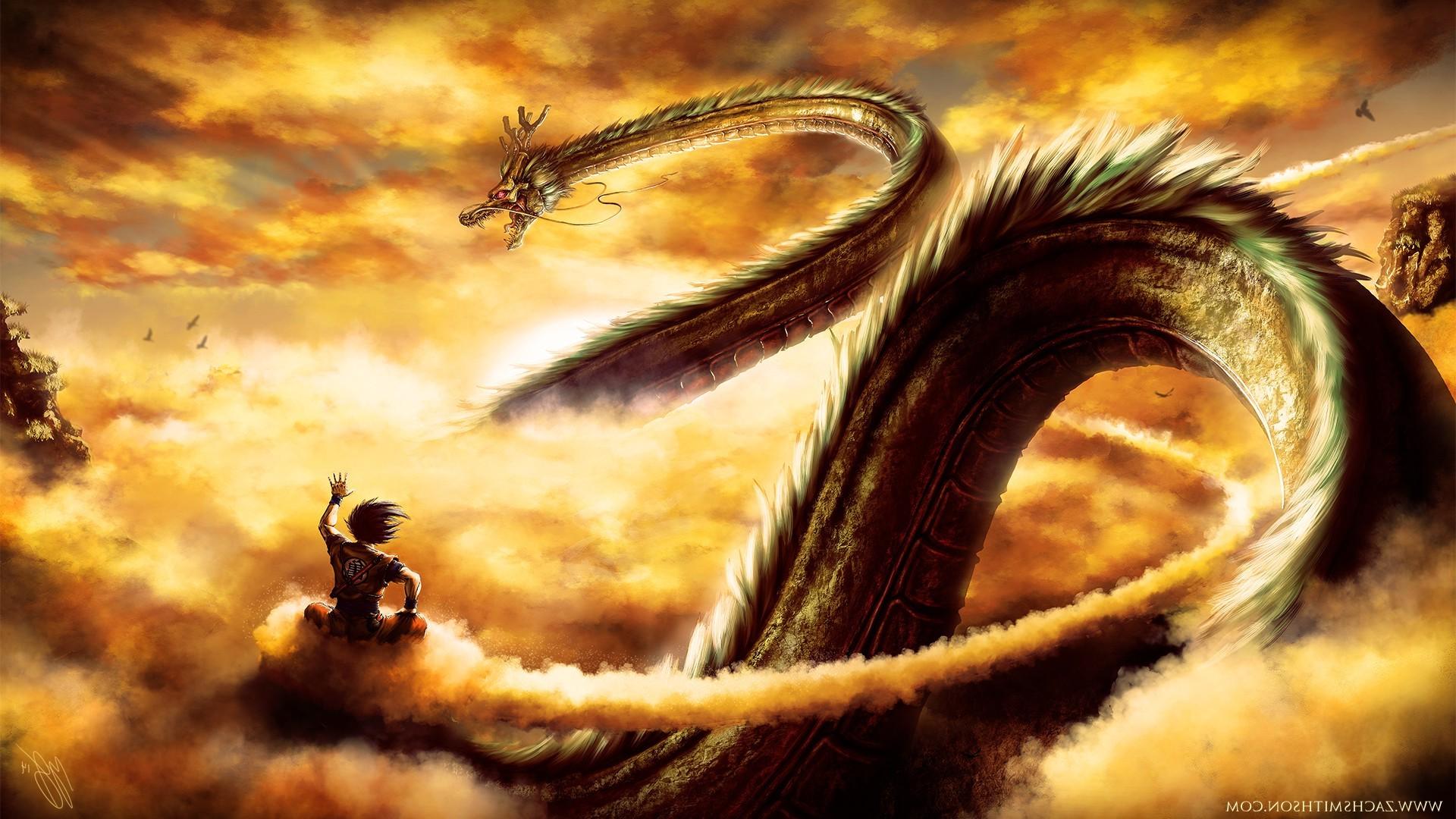 wallpaper : dragon ball, son goku, dragon, dragon ball z, mythology