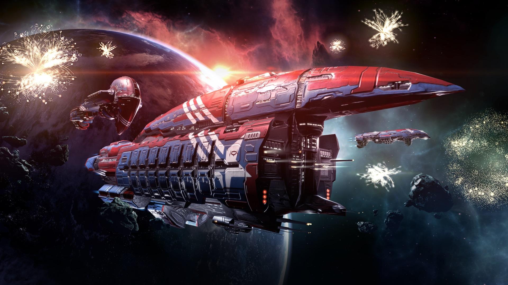 Masaustu Havva Eve Online Bosluk Uzay Gemisi Video Oyunlari
