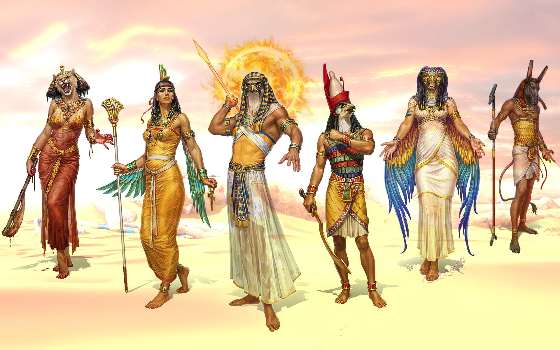 образом, египетская мифология в картинках сообщает, что мвд
