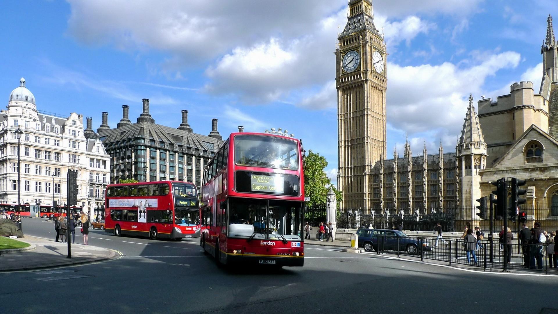 wallpaper : england, london, united kingdom, street 1920x1080