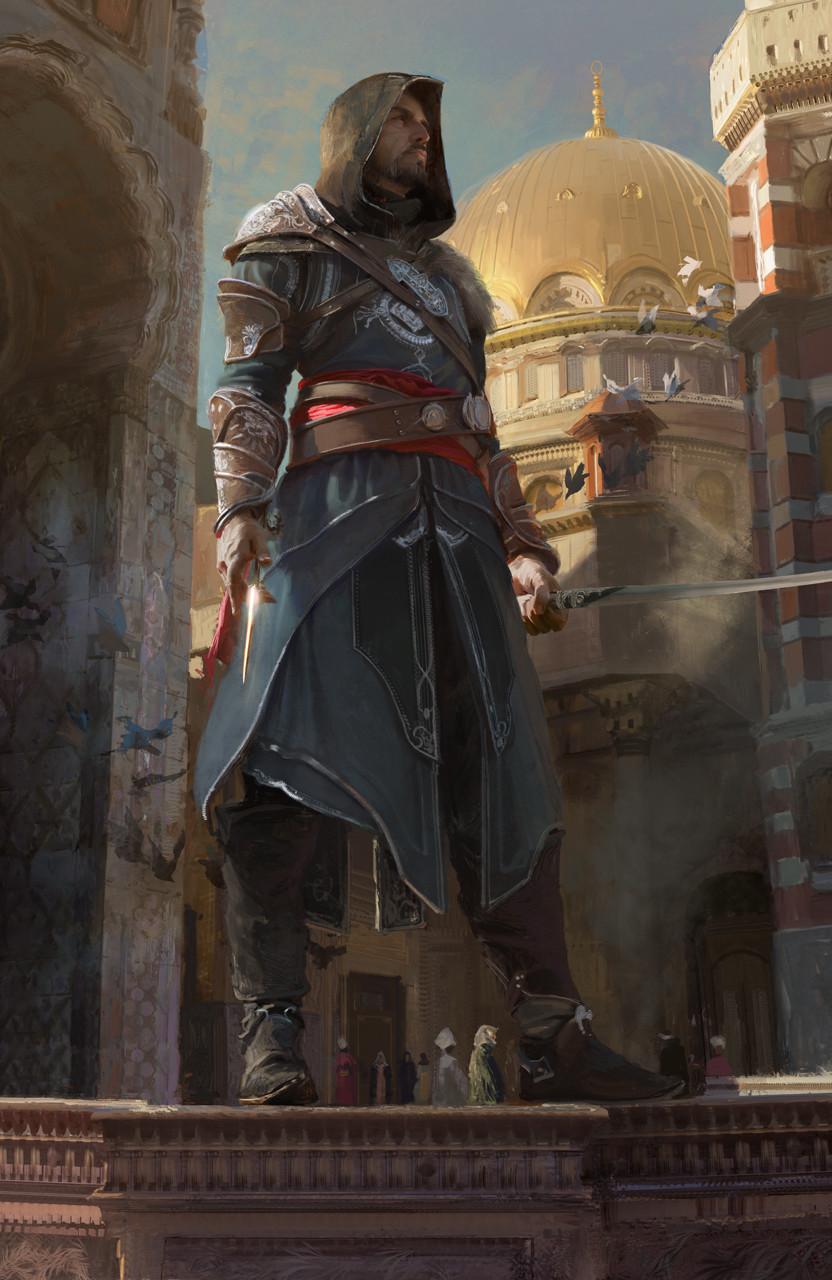 Wallpaper Ezio Auditore Da Firenze Assassin S Creed