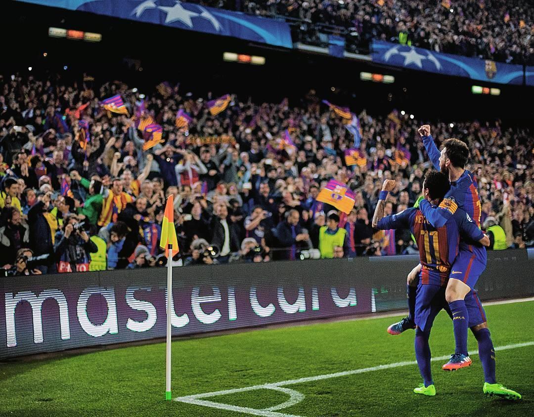 Wallpaper Fc Barcelona Soccer Clubs Lionel Messi Neymar Jr