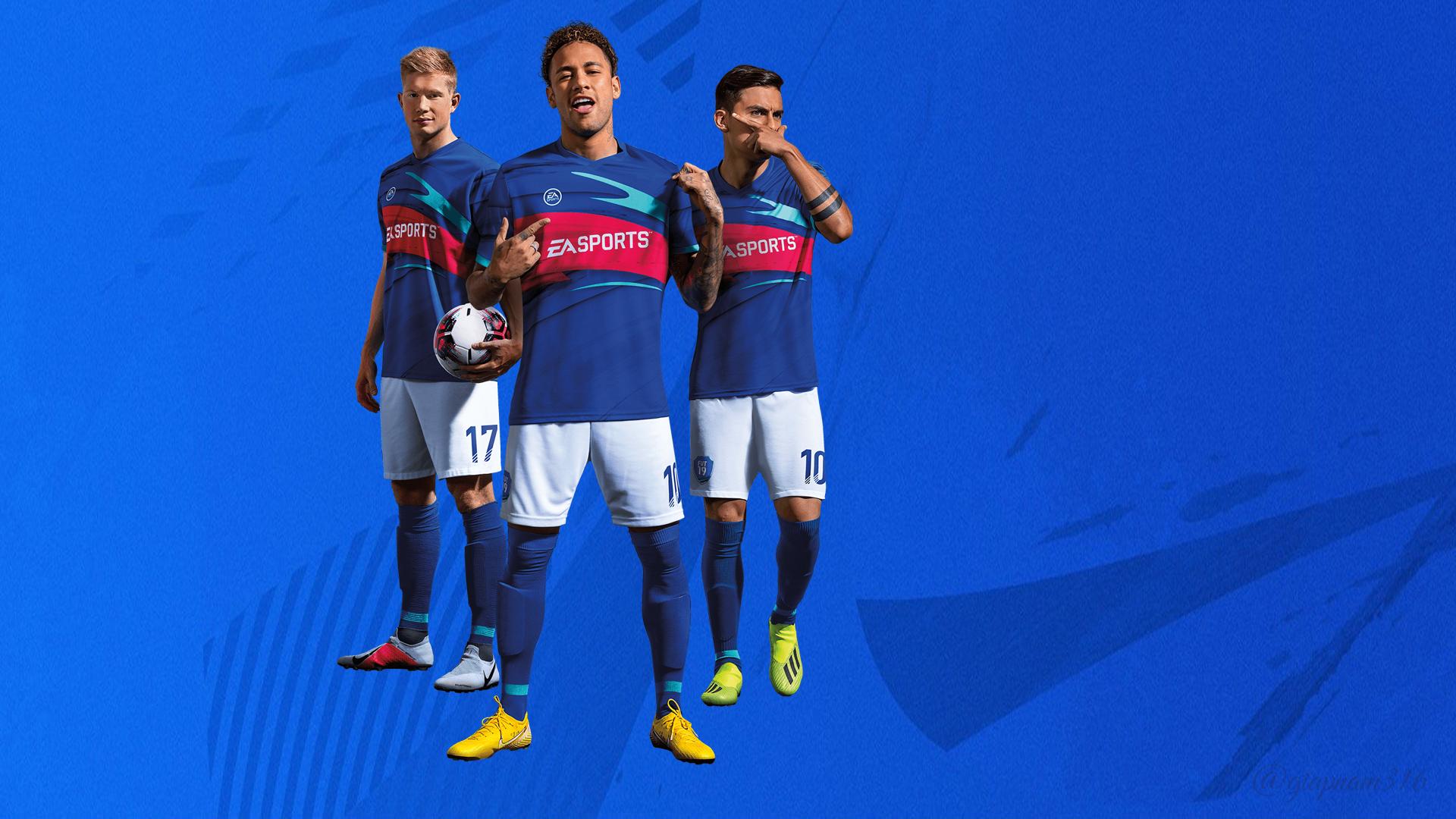 Wallpaper : FIFA Online 4, Neymar, Kevin de Bruyne, Paulo ...