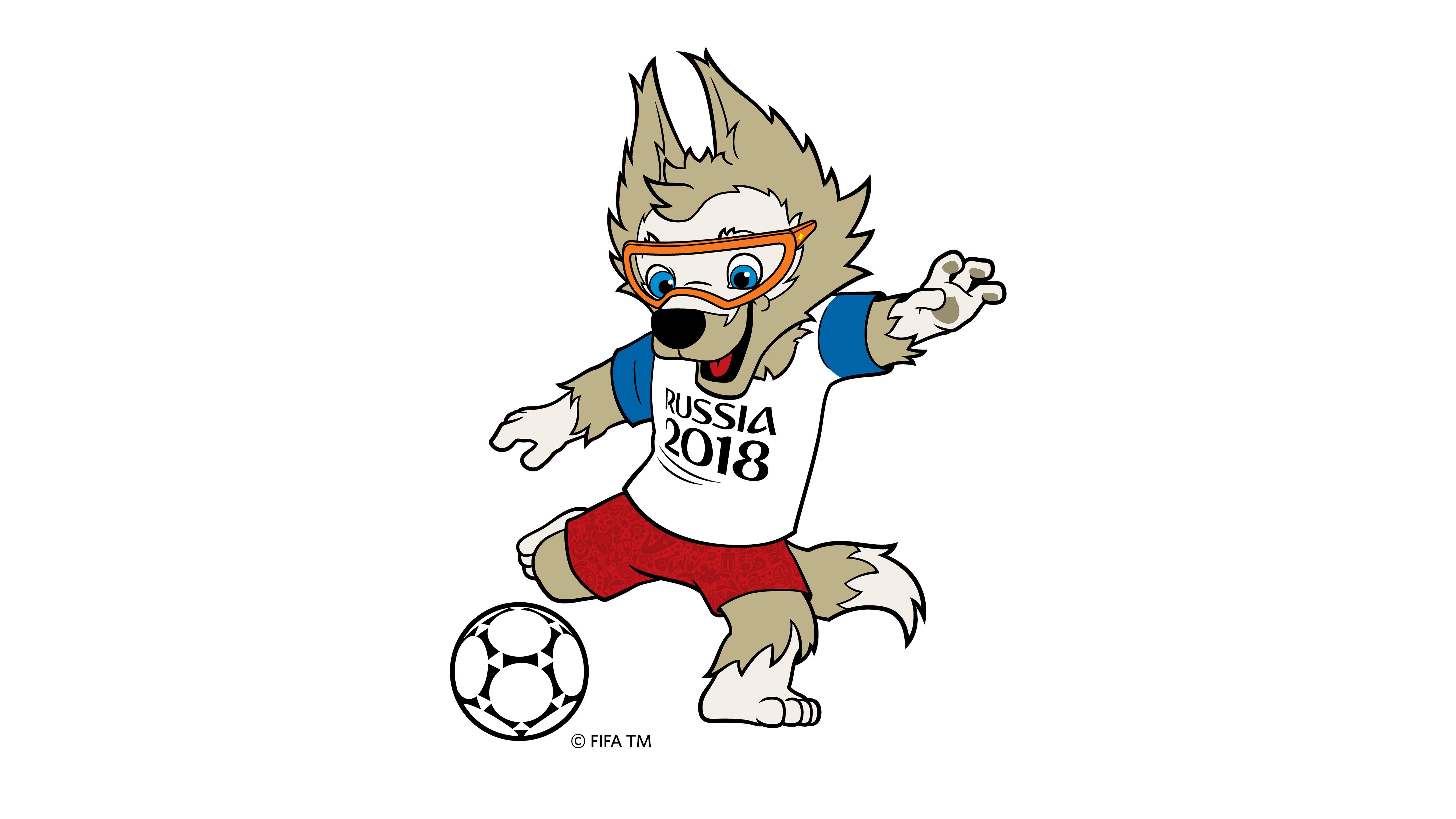 Картинки талисманов чемпионата мира по футболу