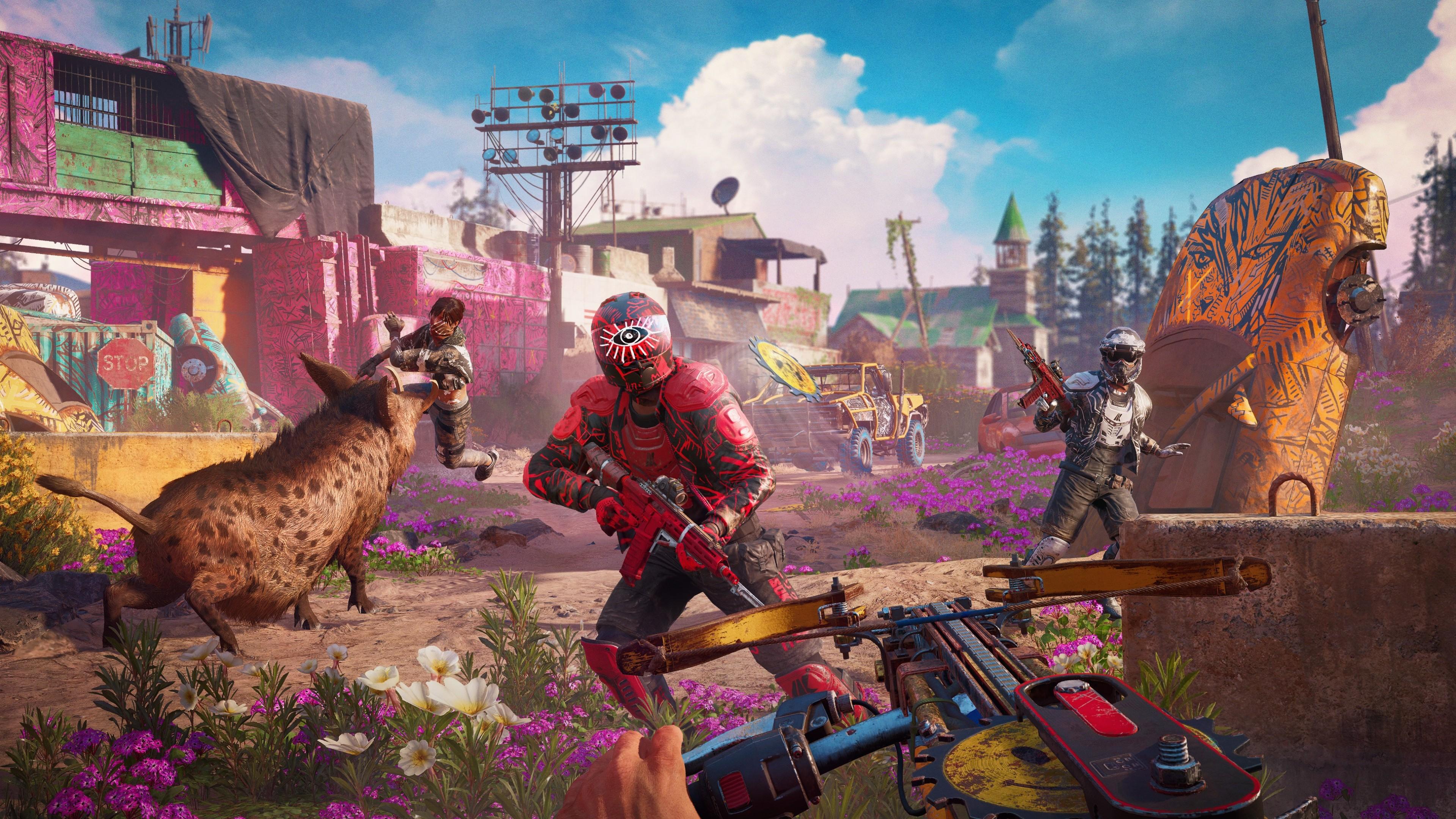 Wallpaper Far Cry New Dawn Video Games Ubisoft 3840x2160