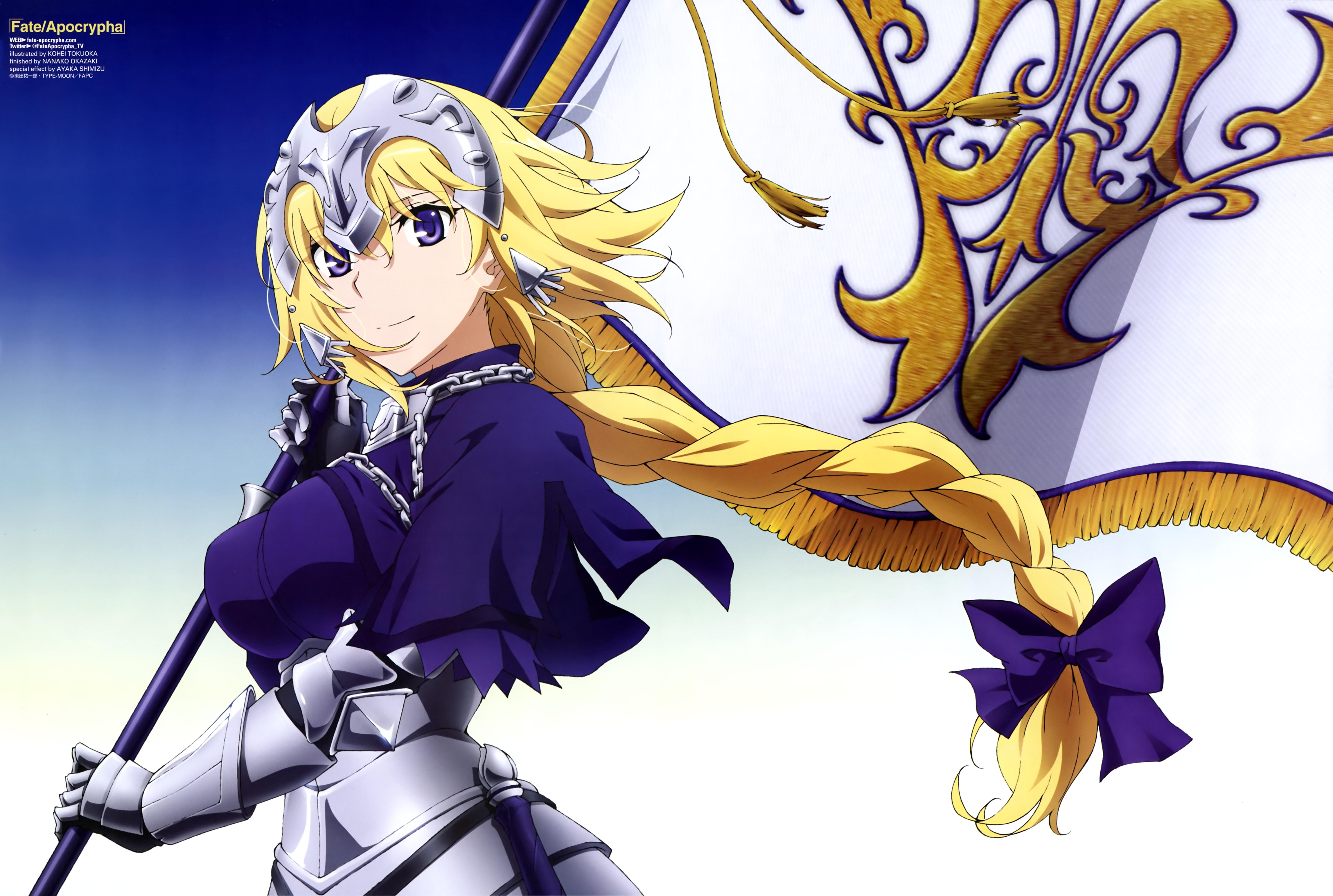 Fate Apocrypha Ruler Fate Grand Order anime girls
