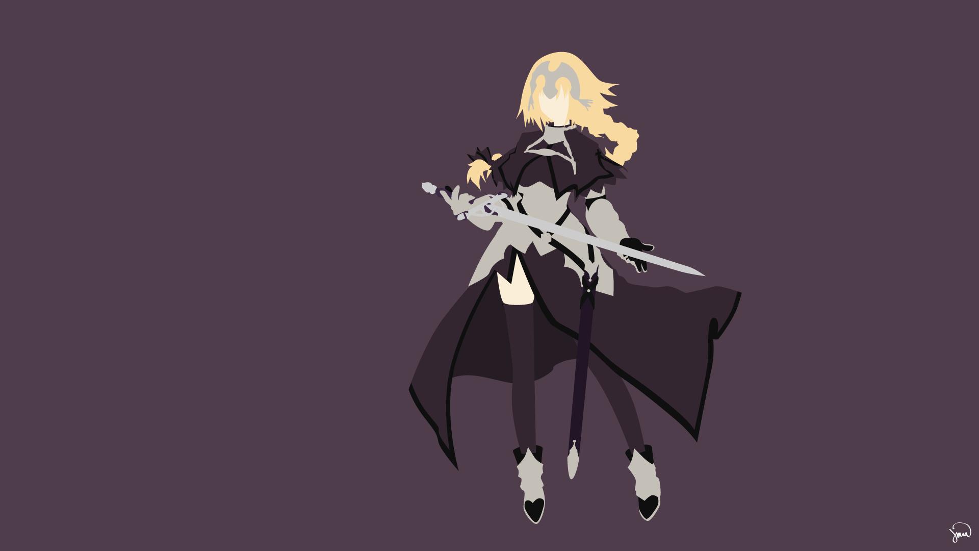 Fate Apocrypha anime girls Ruler Fate Apocrypha Jeanne d Arc