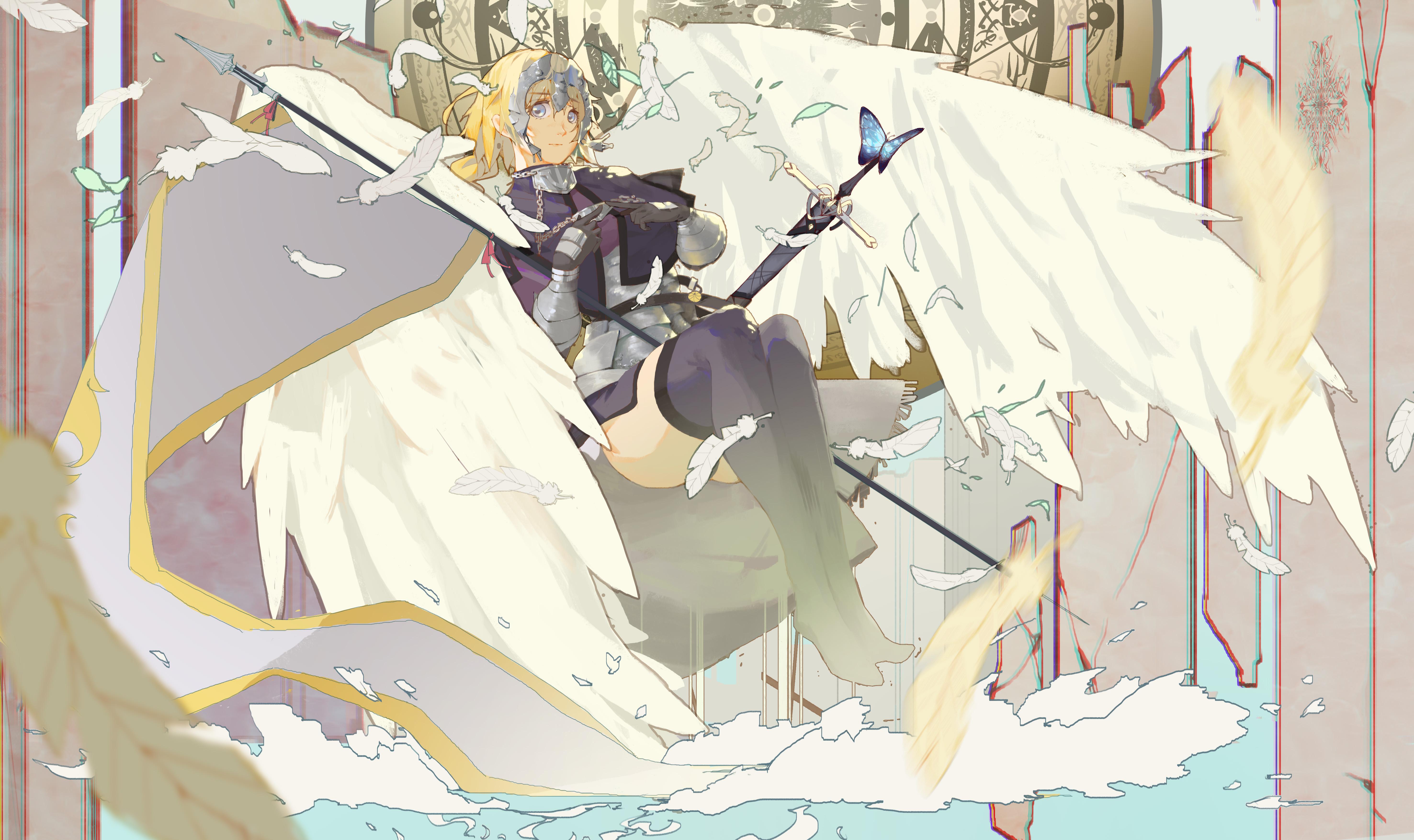Fate Series Fate Apocrypha anime girls Ruler Fate Apocrypha