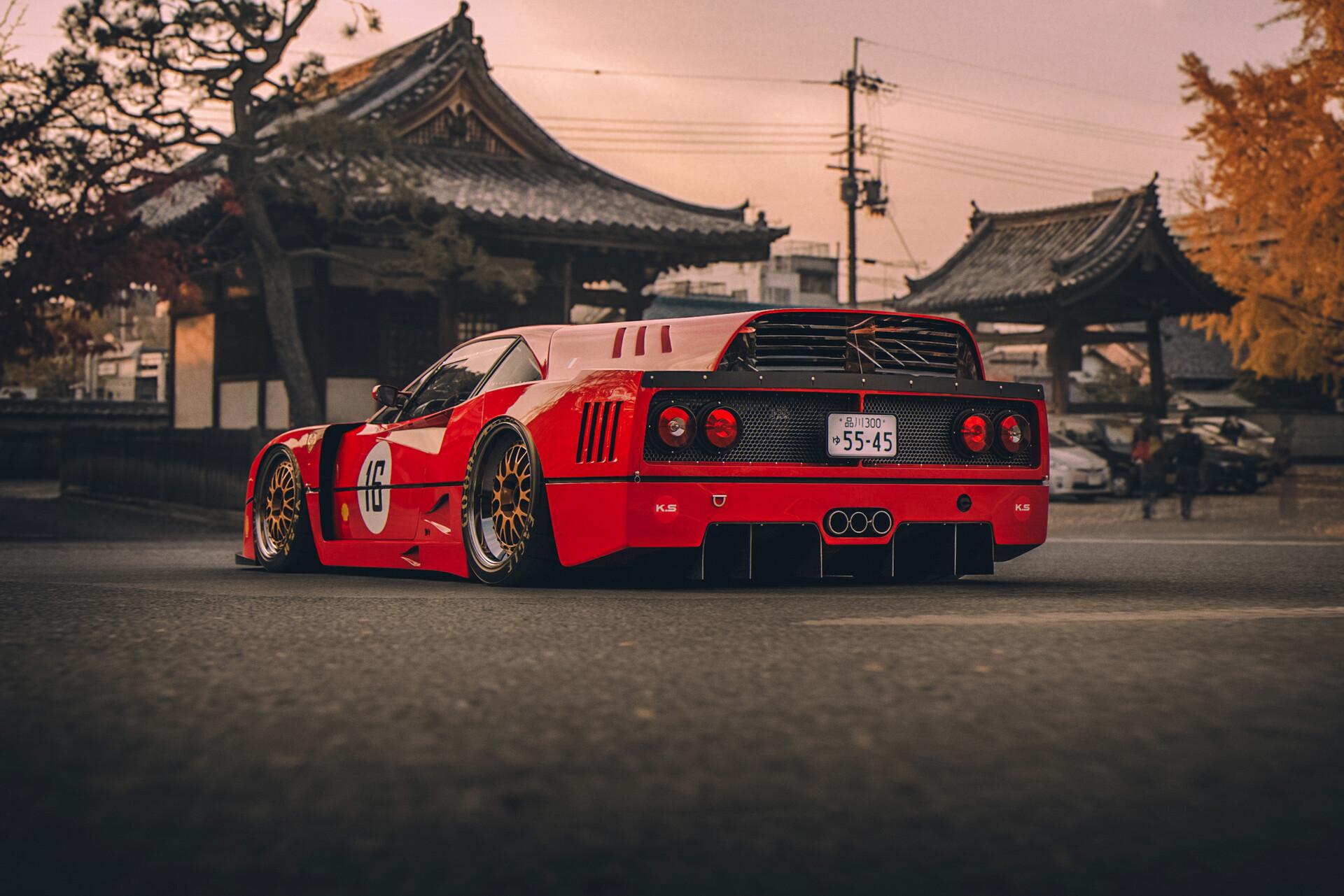 Hintergrundbilder Ferrari F40 Japan 1920x1281 Brycied00d 1551201 Hintergrundbilder Wallhere