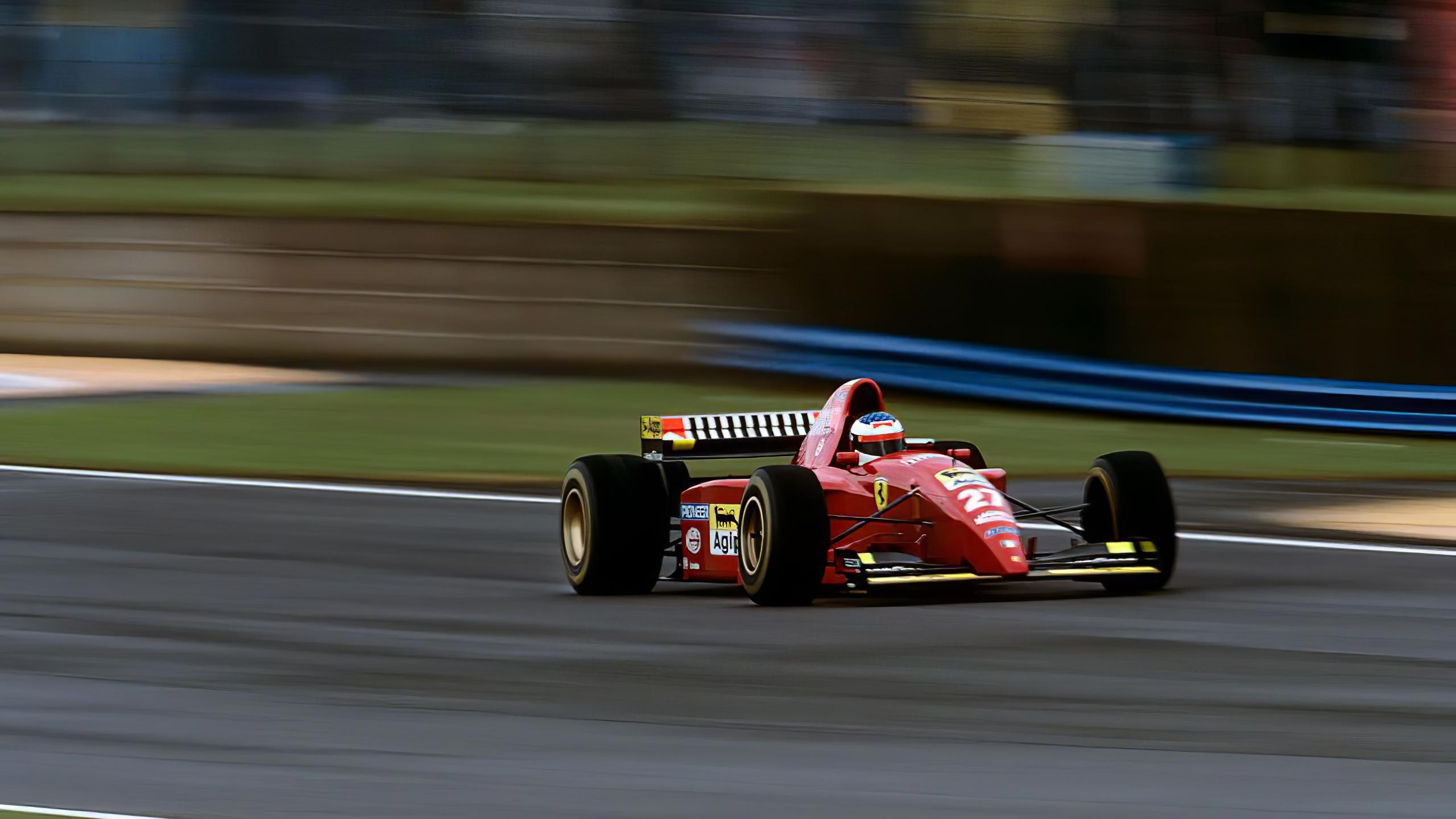 Wallpaper Ferrari Formula 1 Race Cars Racing 2560x1440