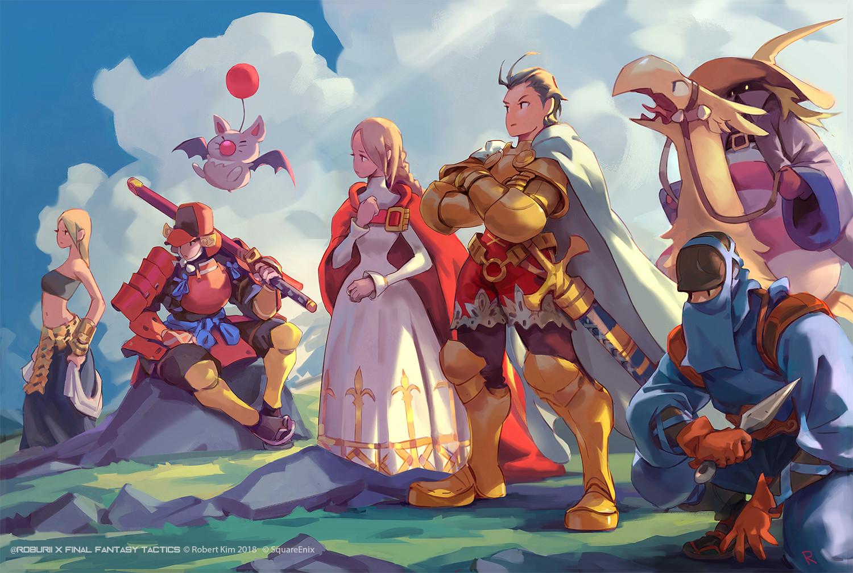 Wallpaper Final Fantasy Tactics Delita Final Fantasy 1500x1007
