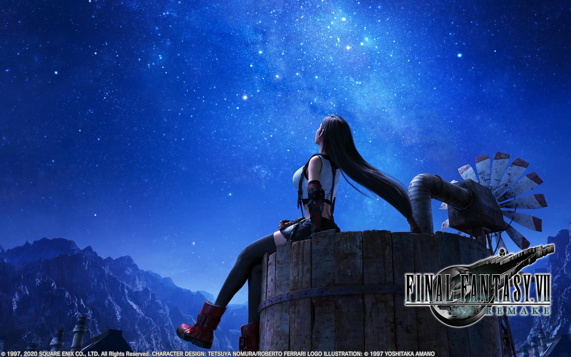 Wallpaper Final Fantasy Vii Remake Final Fantasy Vii Tifa Lockhart 1920x1200 Aic9182 1840299 Hd Wallpapers Wallhere