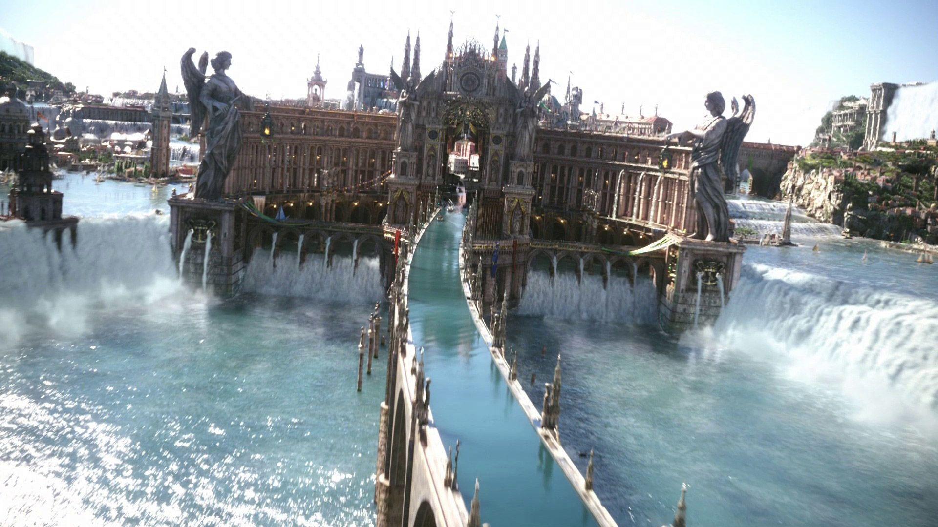 Wallpaper : Final Fantasy XV, Altissia, Final Fantasy ...