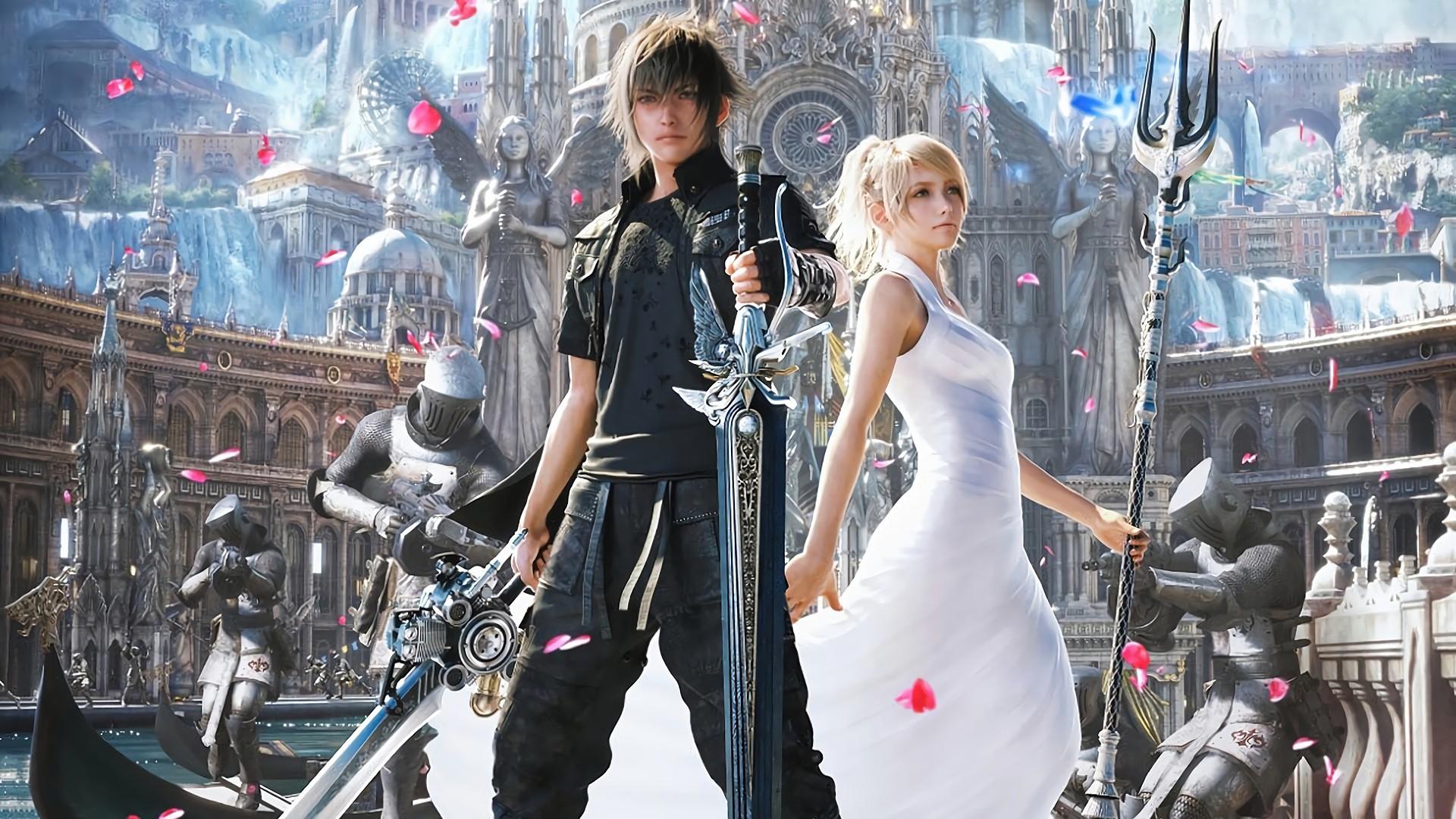 Wallpaper : Final Fantasy XV, video